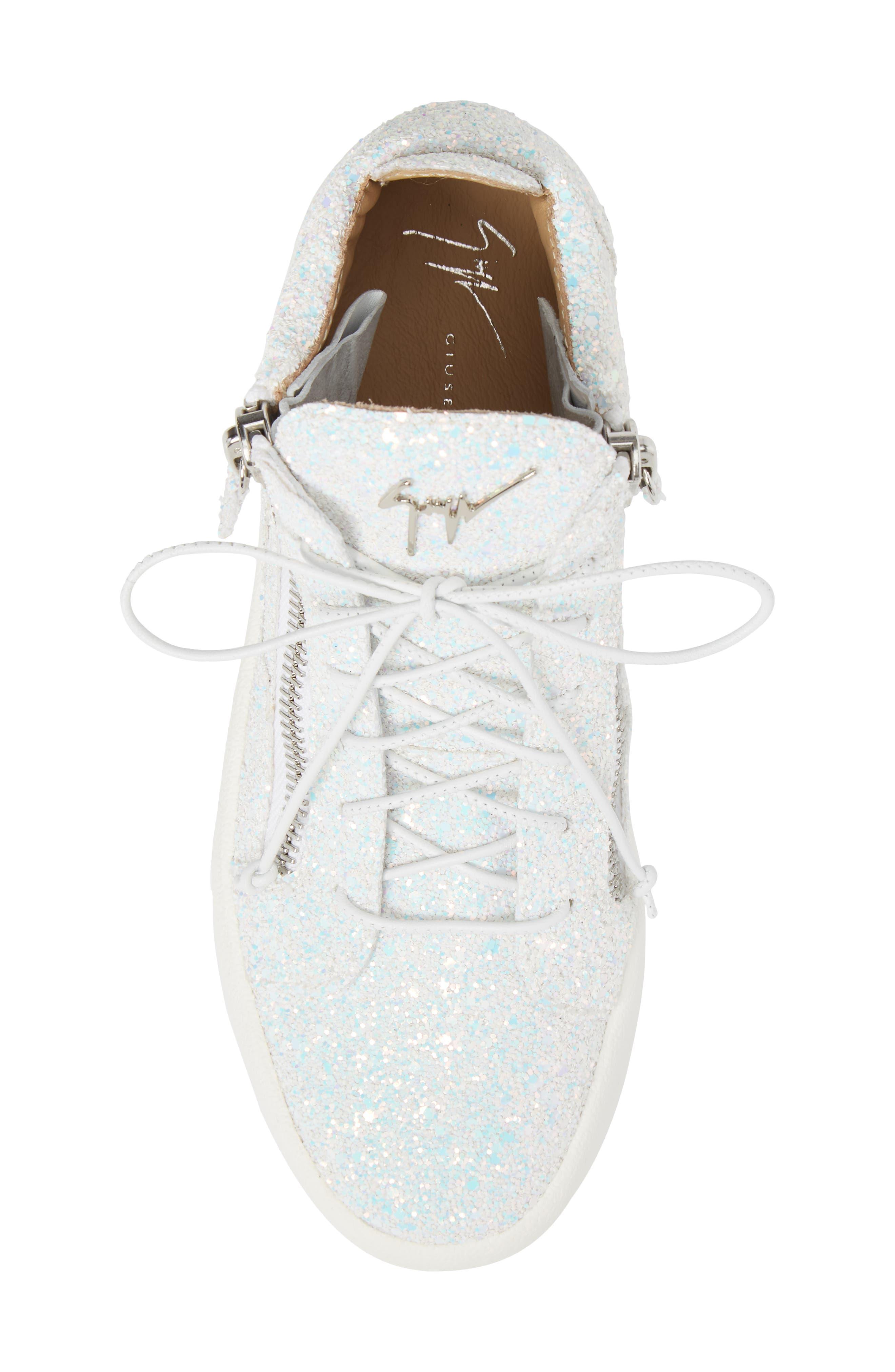 Alternate Image 5  - Giuseppe Zanotti May London High Top Sneaker (Women)