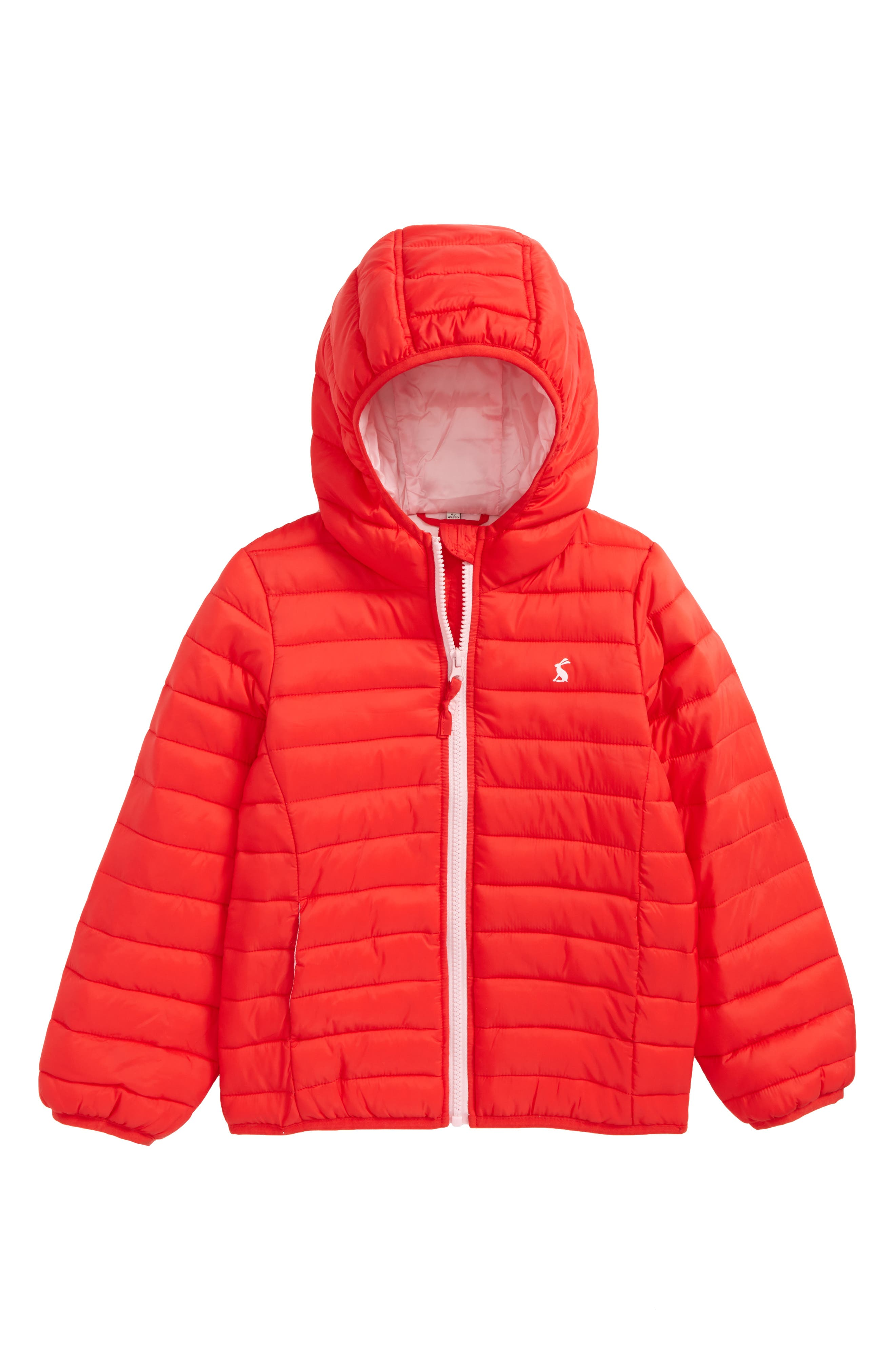 Joules Packaway Hooded Jacket (Toddler Girls, Little Girls & Big Girls)