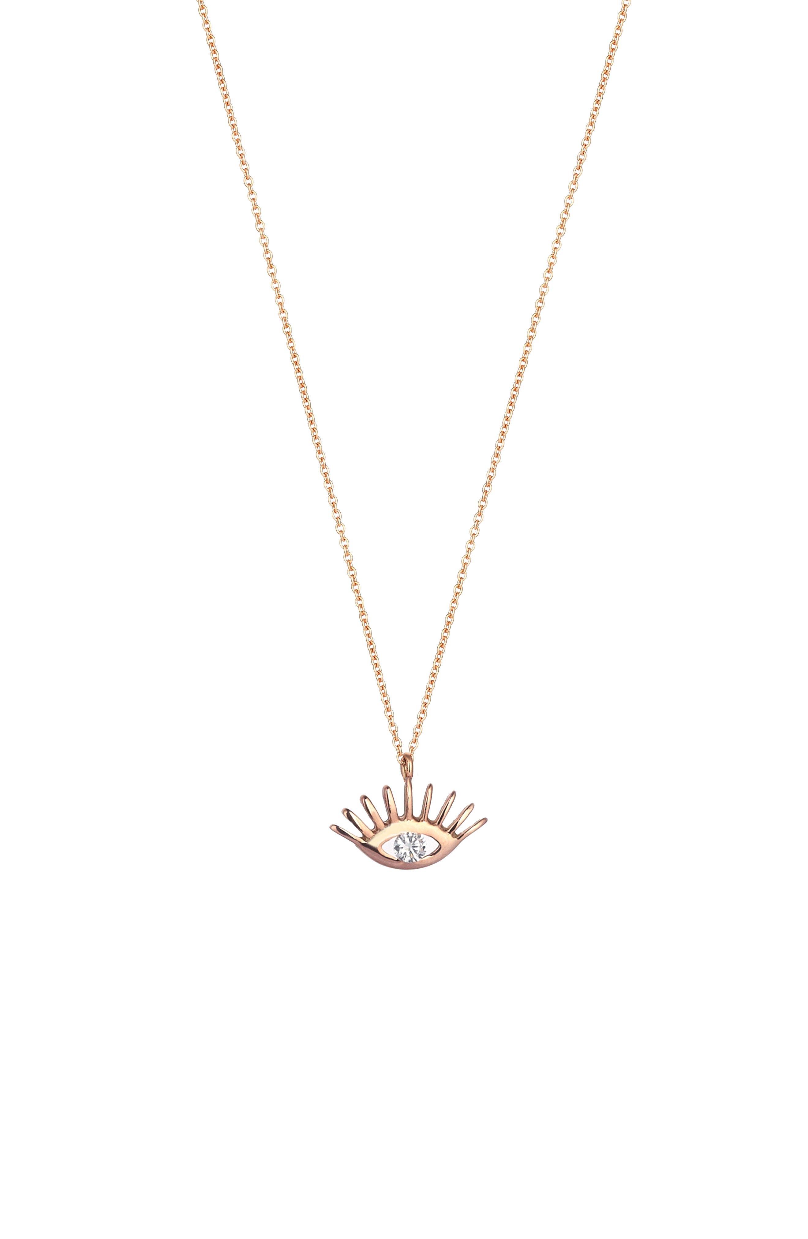 Kismet by Milka Diamond Pendant Necklace