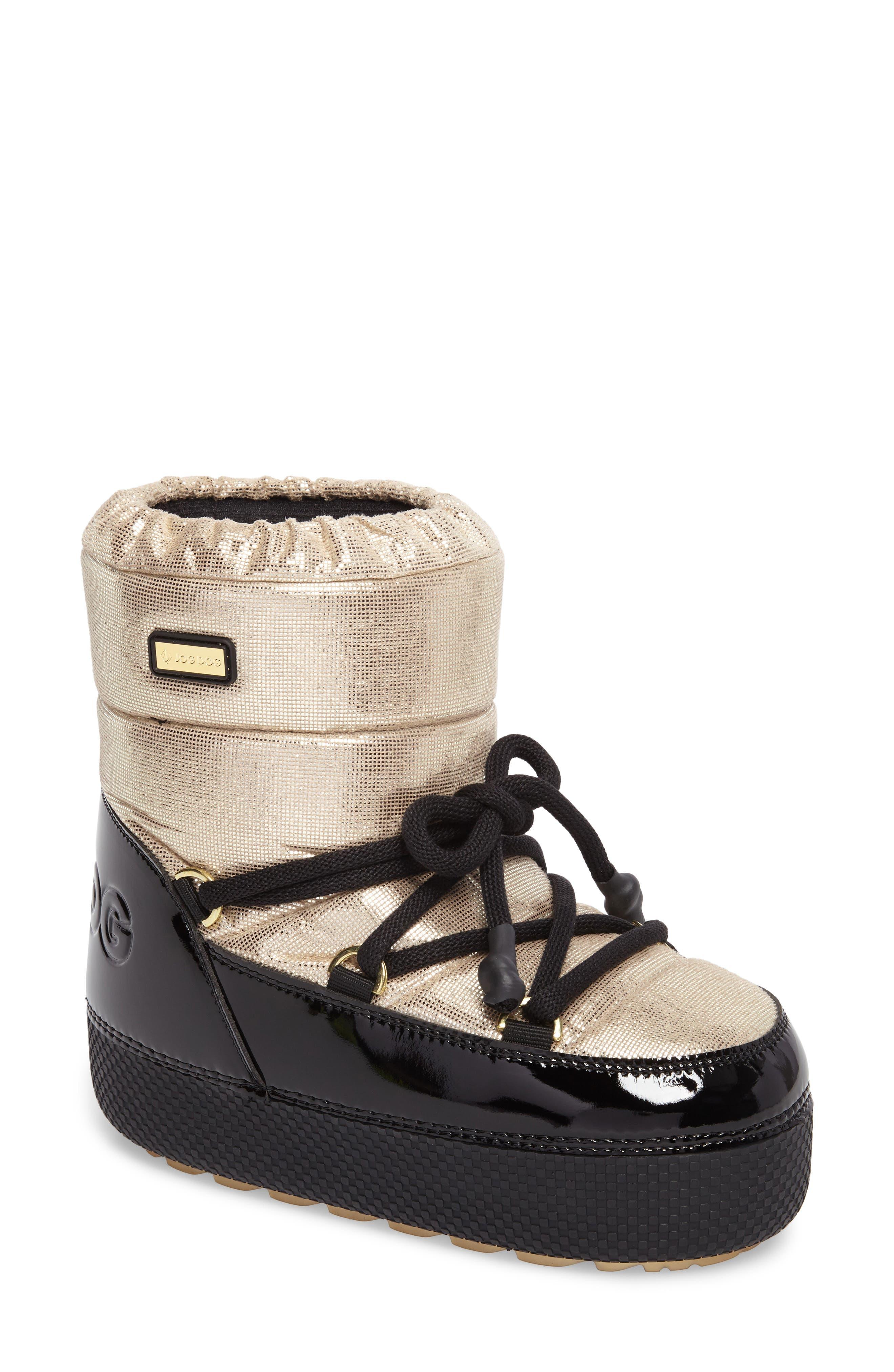 Gstaad Waterproof Boot,                         Main,                         color, Platinum Extralux