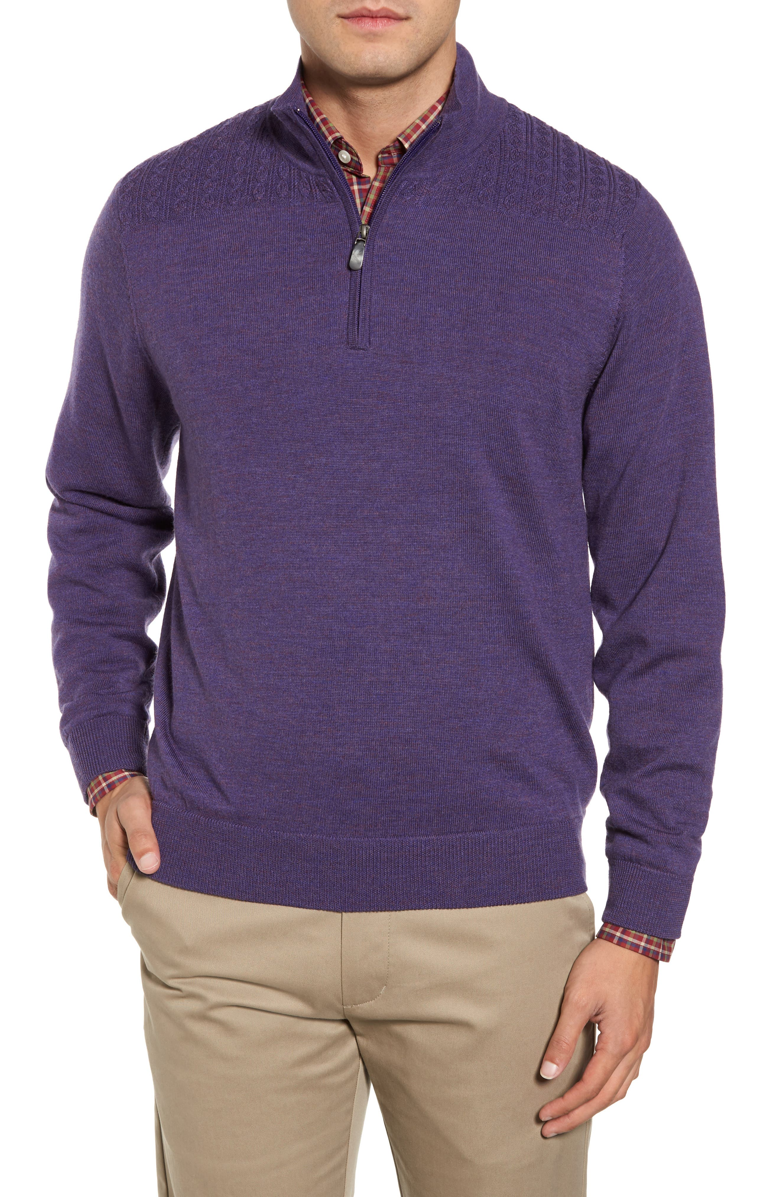 Bobby Jones Cable Wind Wool Sweater
