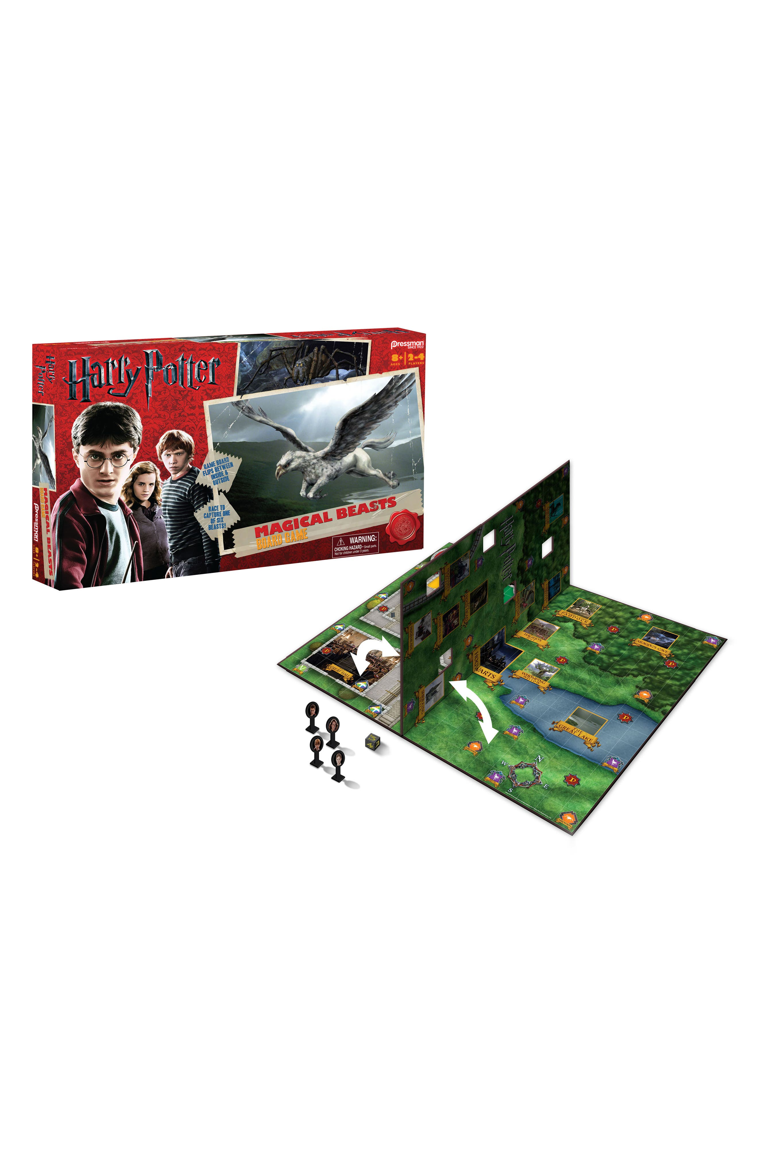 6-Piece Harry Potter Magical Beasts Game,                         Main,                         color, Black