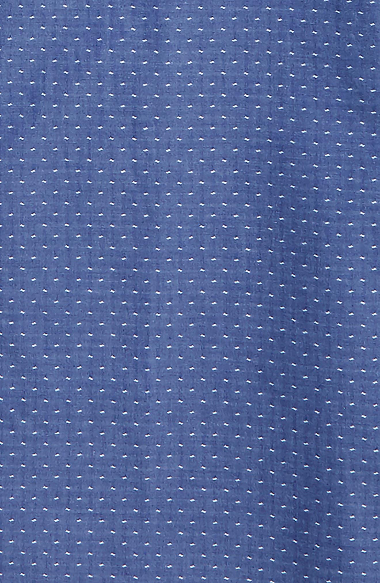 Dobby Dress Shirt,                             Alternate thumbnail 2, color,                             Blue