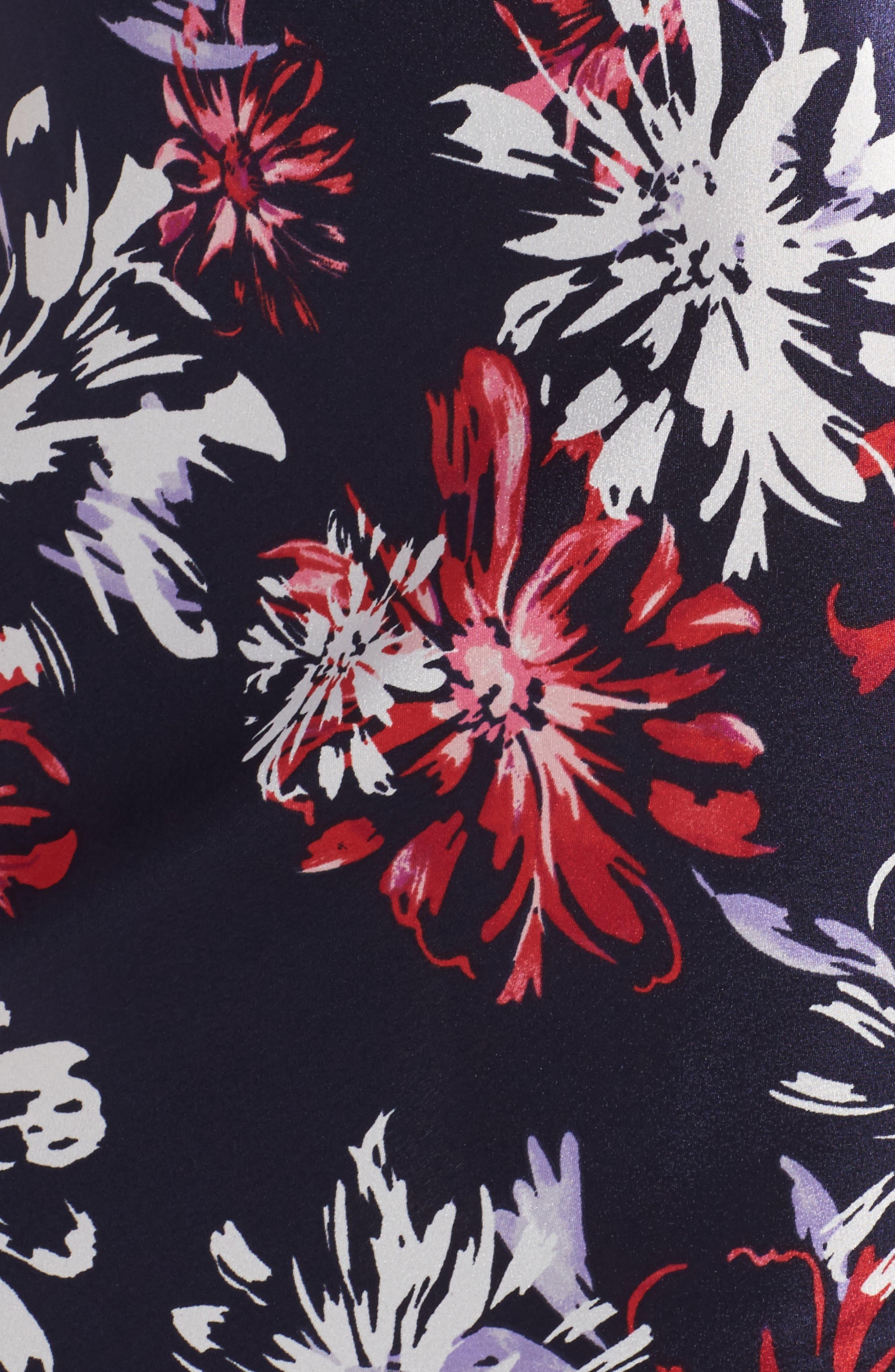 Alternate Image 5  - Oscar de la Renta Sleepwear Charmeuse Nightgown
