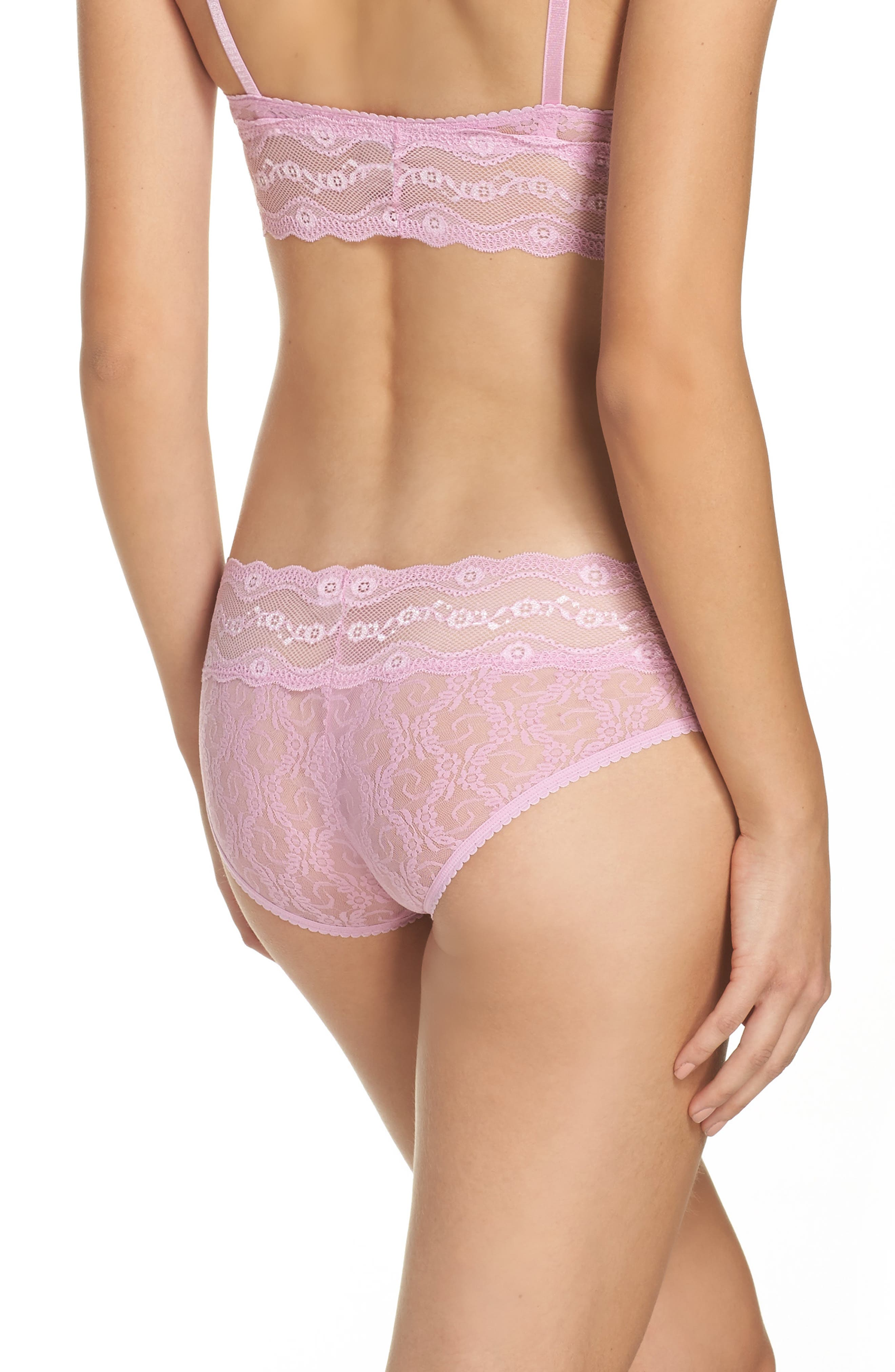 Alternate Image 2  - b.tempt'd by Wacoal 'Lace Kiss' Hipster Briefs (3 for $33)