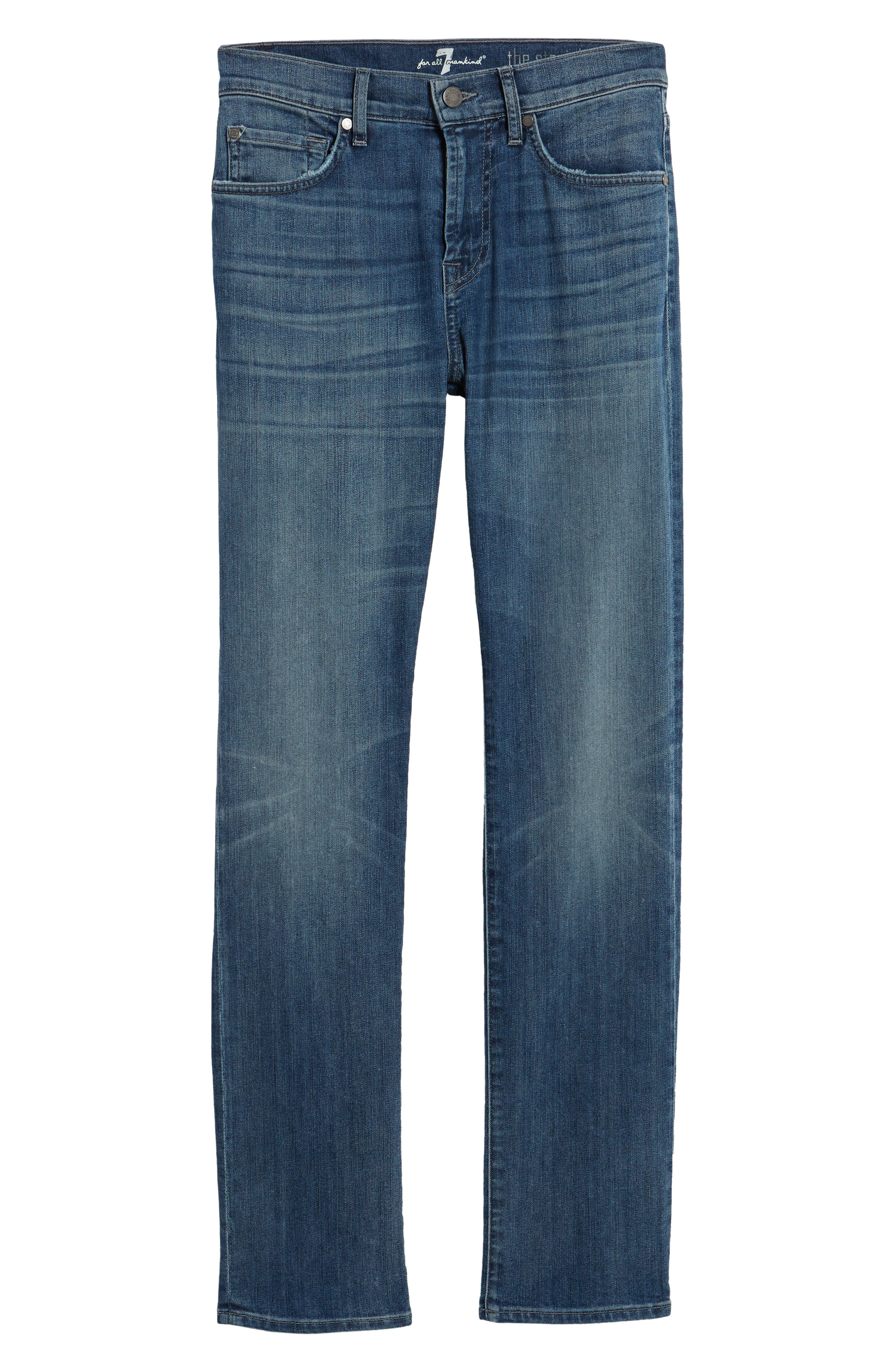 The Straight Slim Straight Leg Jeans,                             Alternate thumbnail 6, color,                             Flash