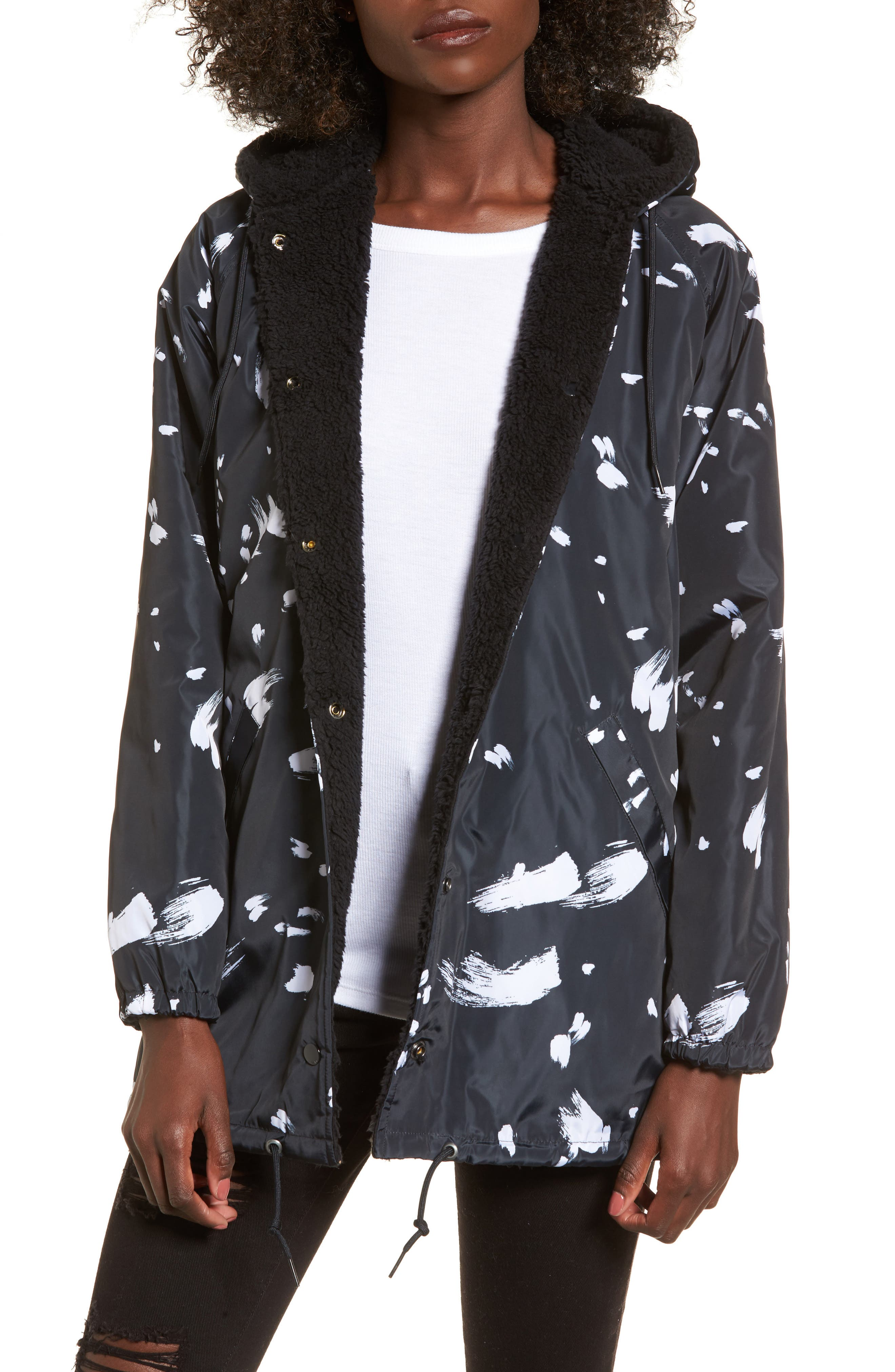 Alternate Image 2  - Obey Kendall Reversible Jacket