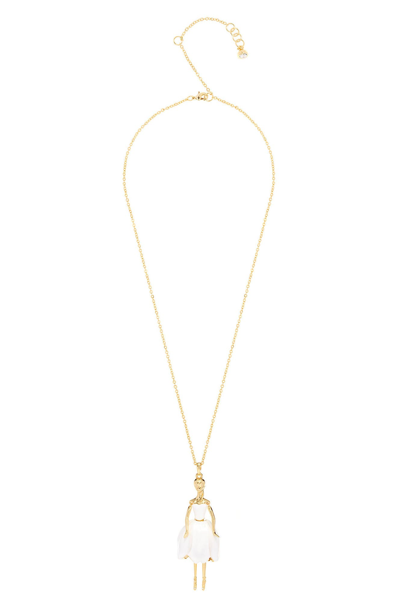 Alternate Image 1 Selected - Ted Baker London Tuula Ballerina Pendant Necklace