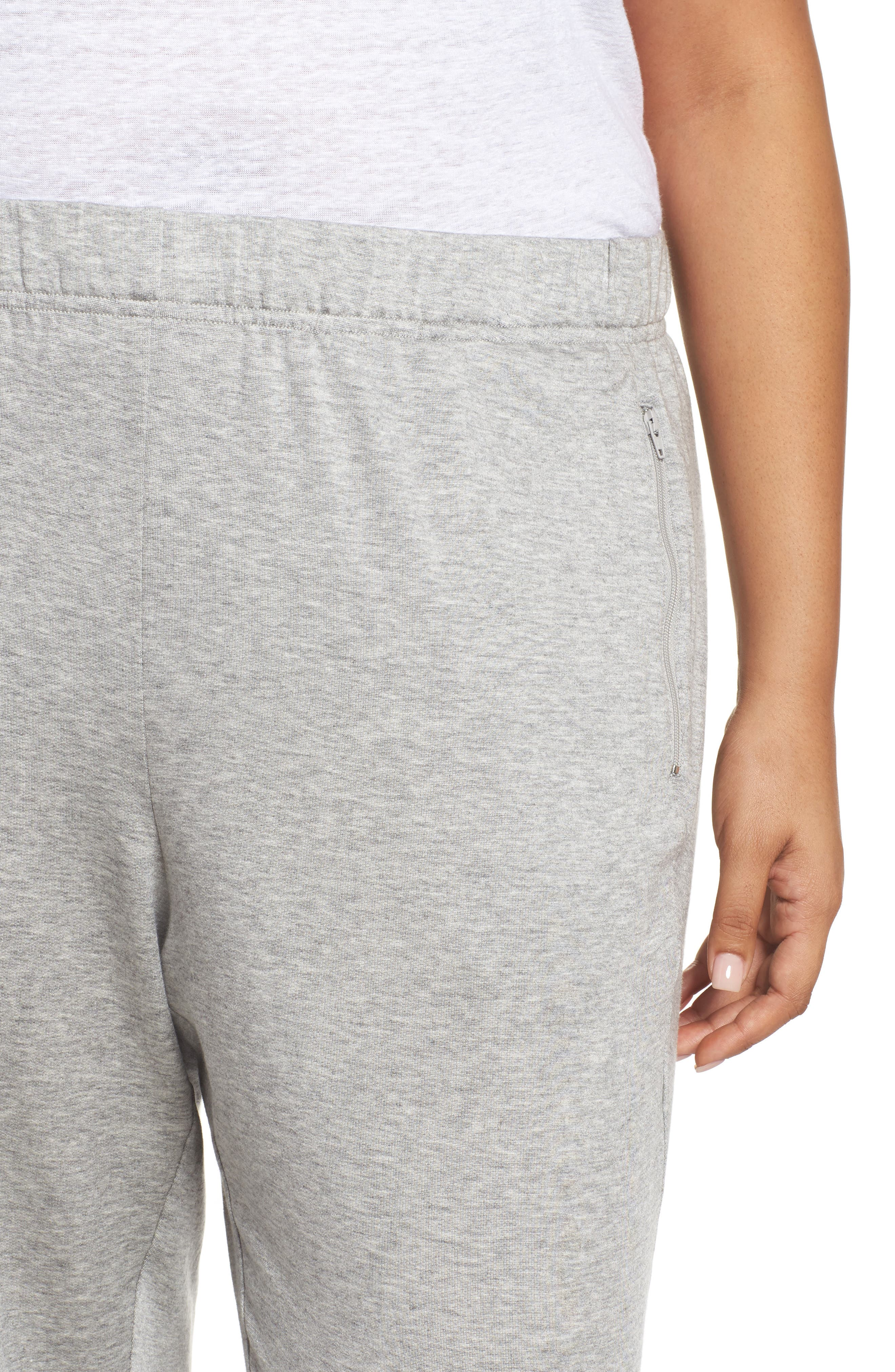 Slouchy Stretch Pants,                             Alternate thumbnail 4, color,                             Dark Pearl