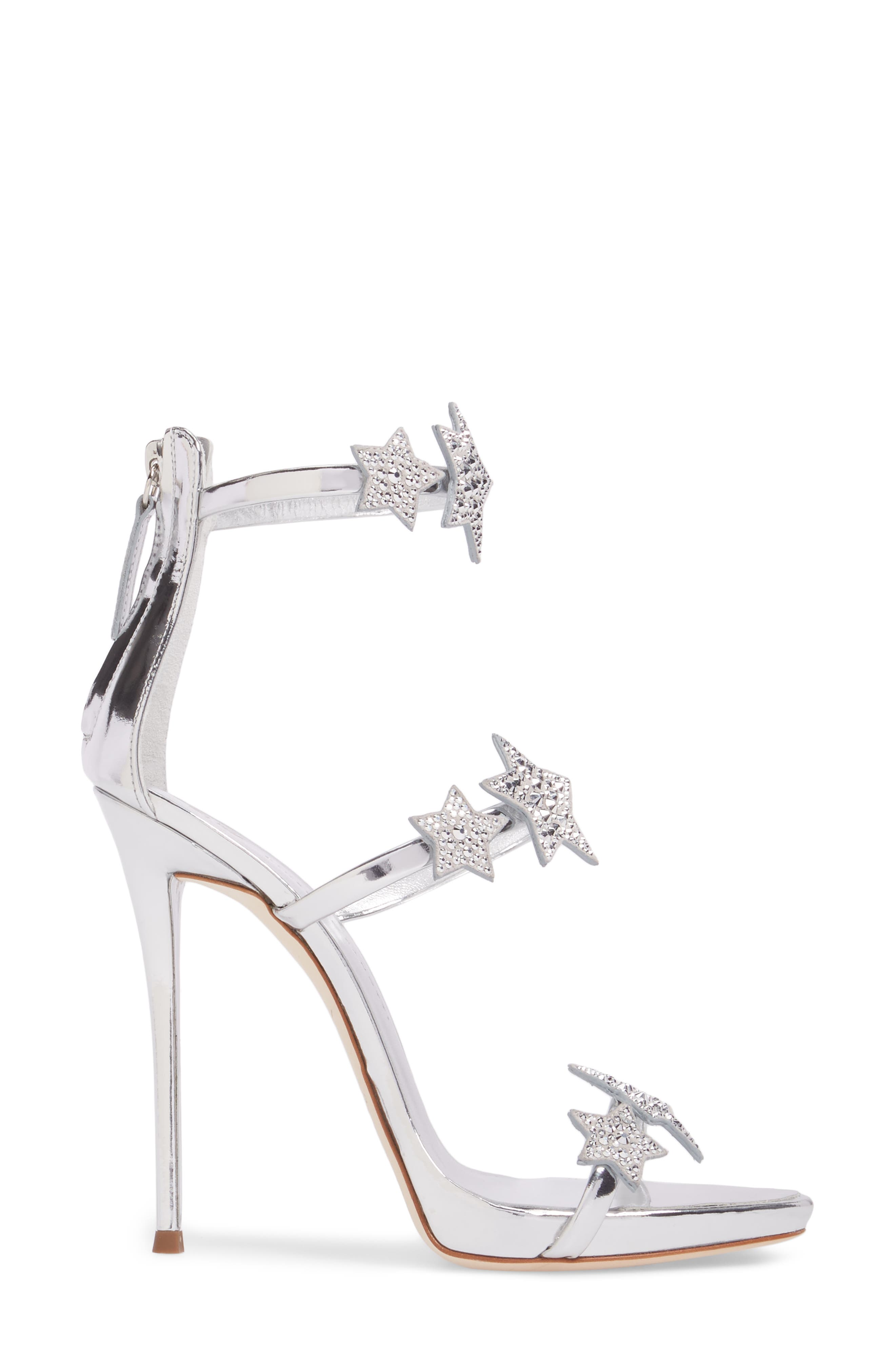Alternate Image 3  - Giuseppe Zanotti Coline Embellished Star Strap Sandal (Women)