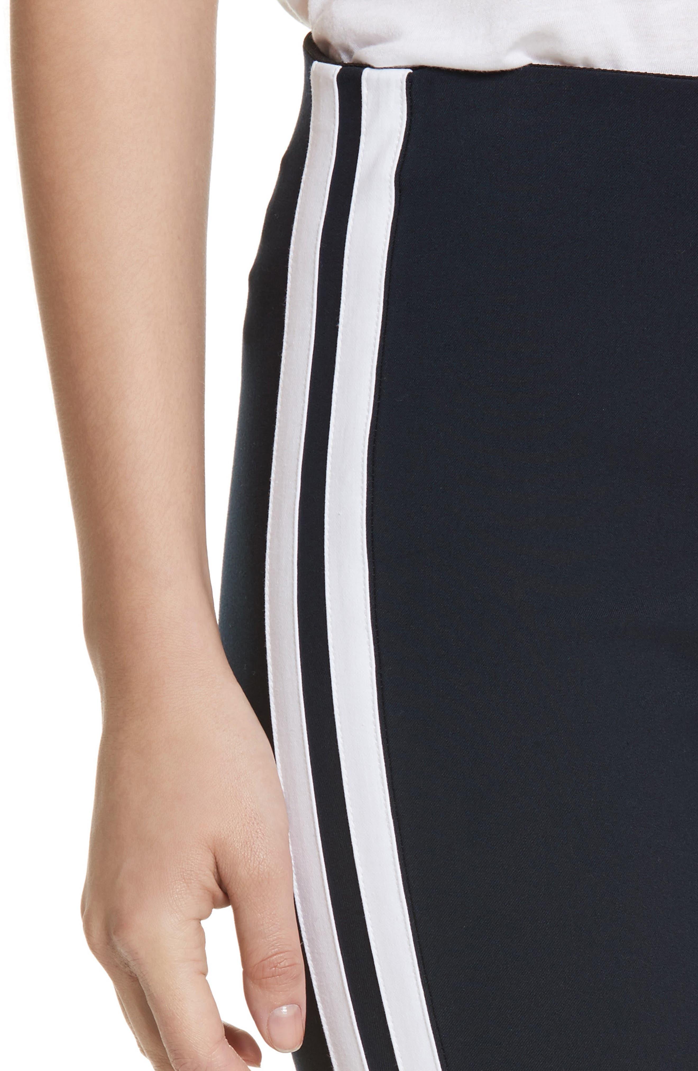 Alternate Image 4  - rag & bone Simone Side Stripe Slim Ankle Pants