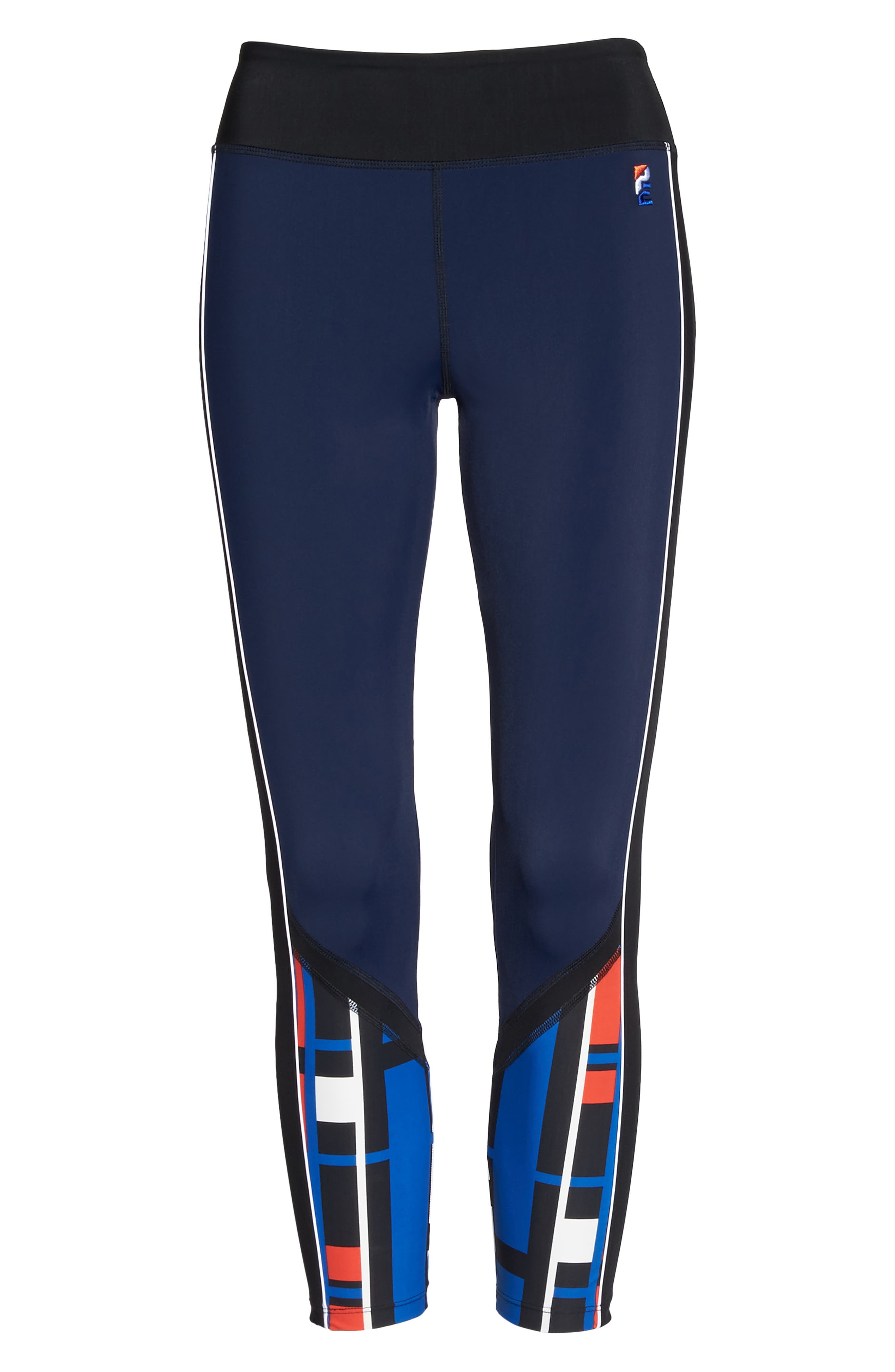 Alternate Image 6  - P.E Nation The Bowl Out Crop Leggings