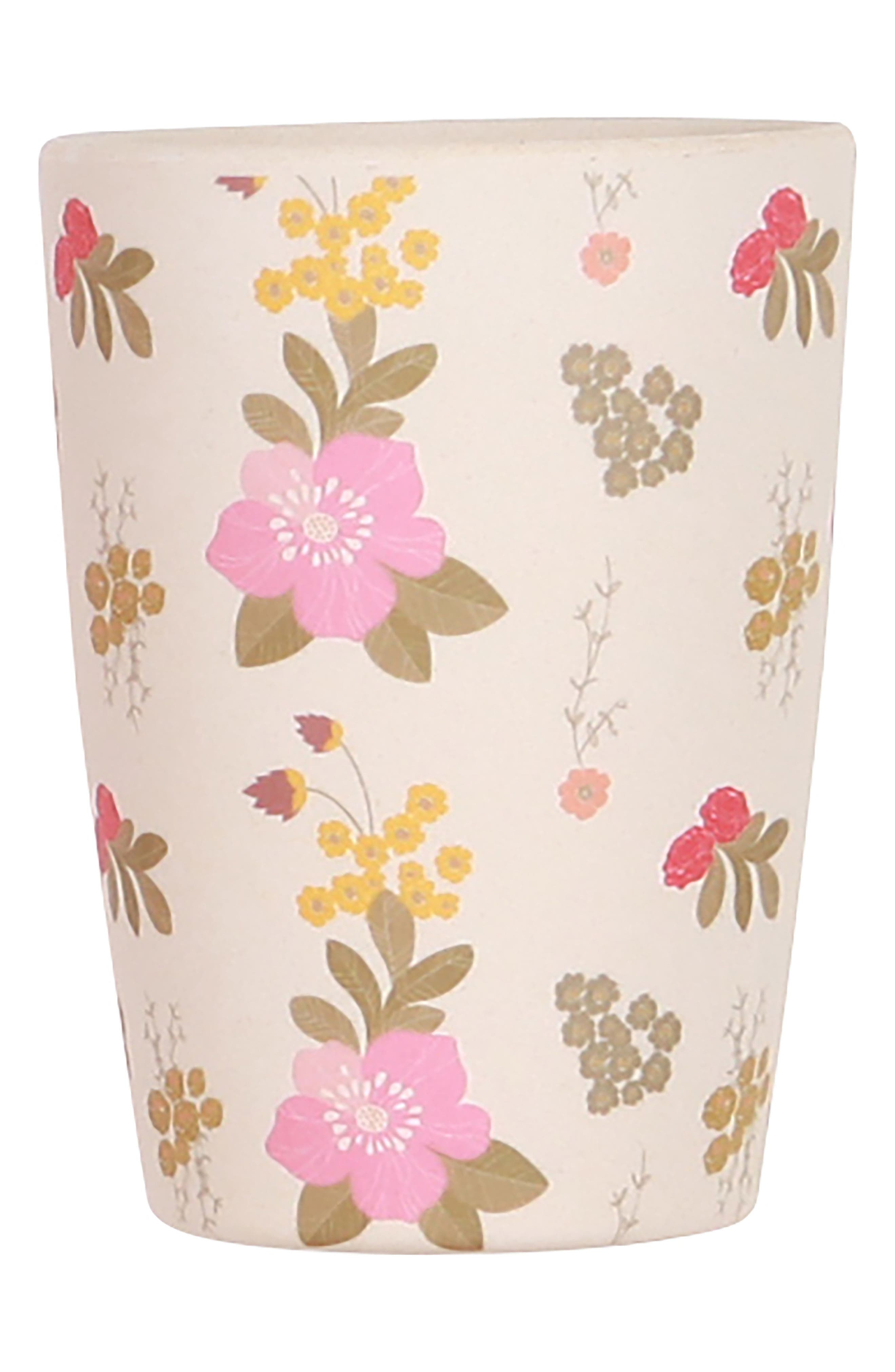 4-Pack Tumblers,                             Alternate thumbnail 4, color,                             Floral And Pink