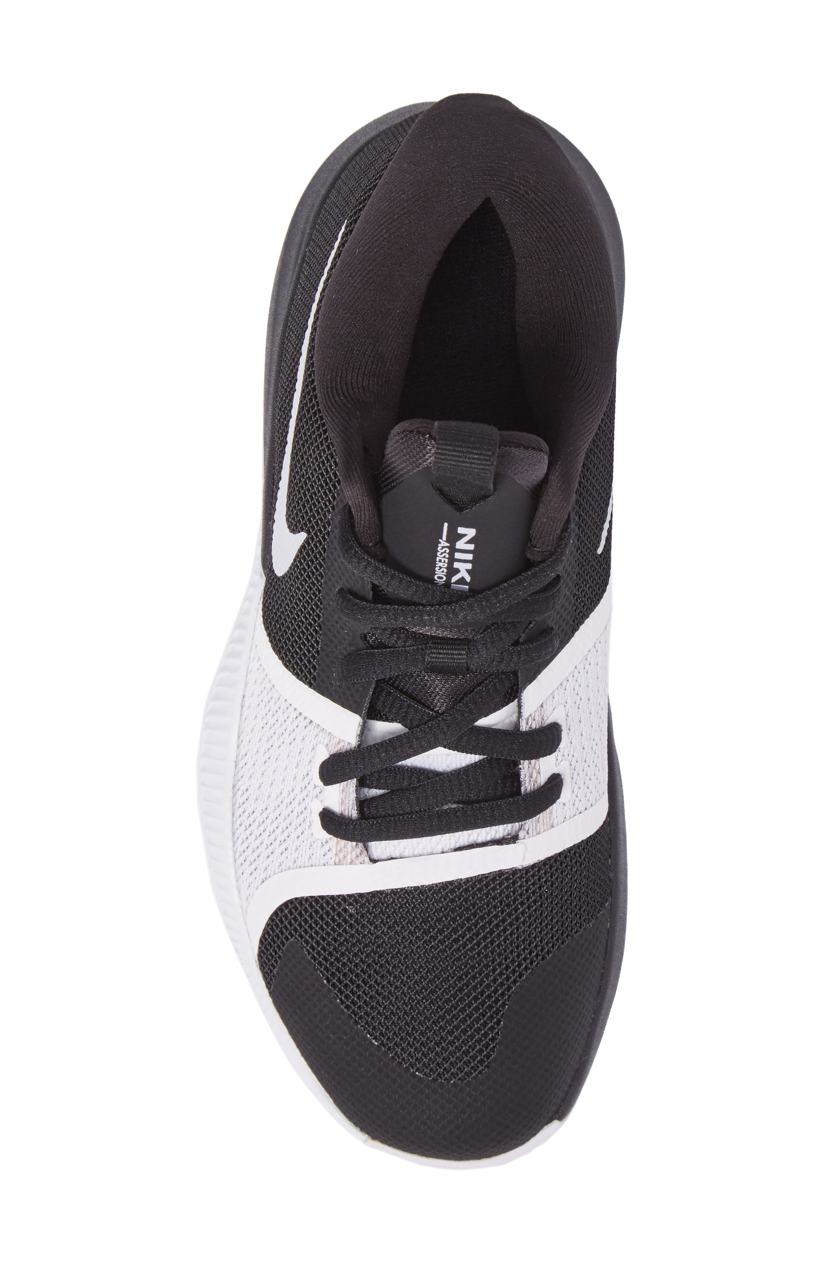 Assersion Sneaker,                             Alternate thumbnail 5, color,                             Black/ White