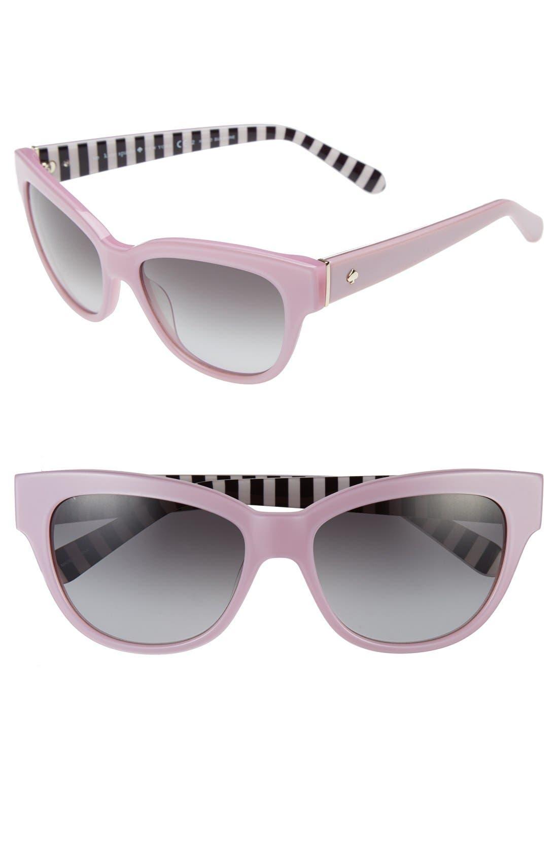 Main Image - kate spade new york 'aisha' 54mm cat eye sunglasses