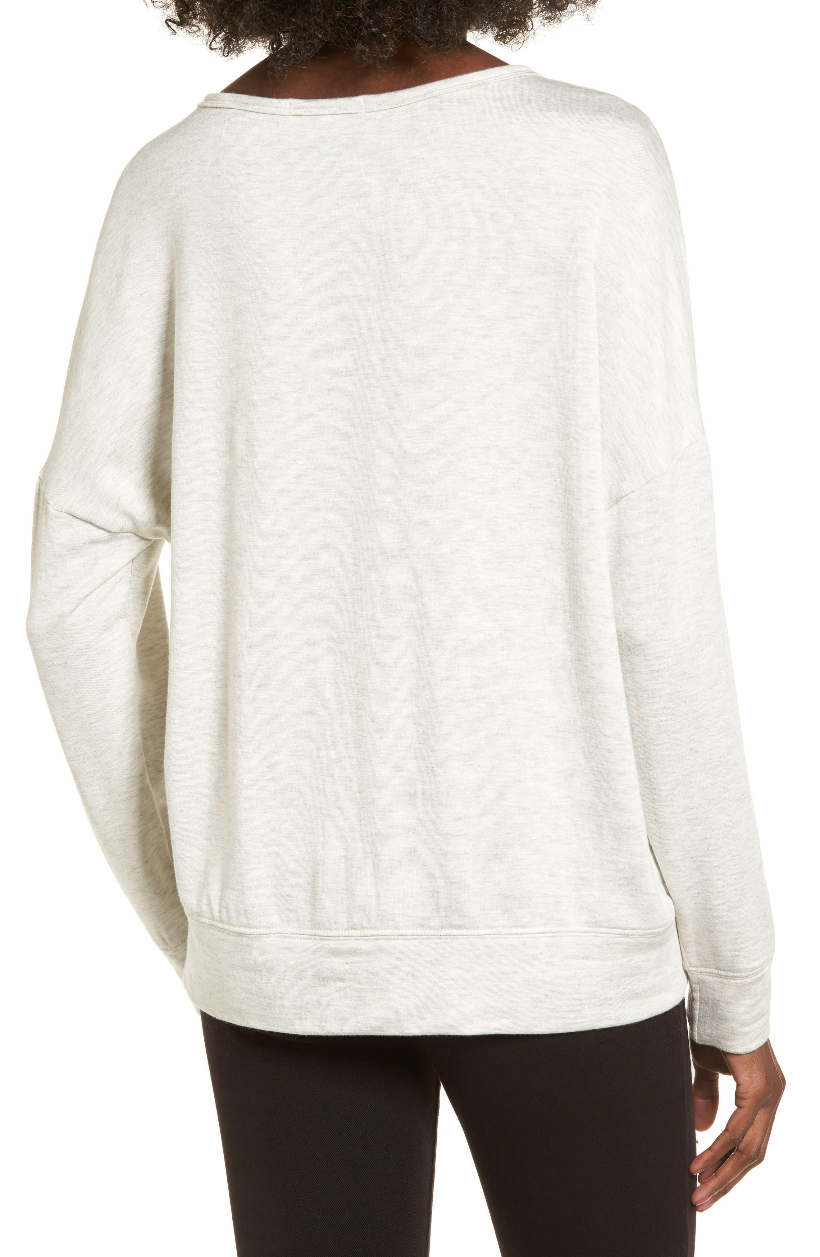 Snake Print Sweatshirt,                             Alternate thumbnail 2, color,                             Light Grey