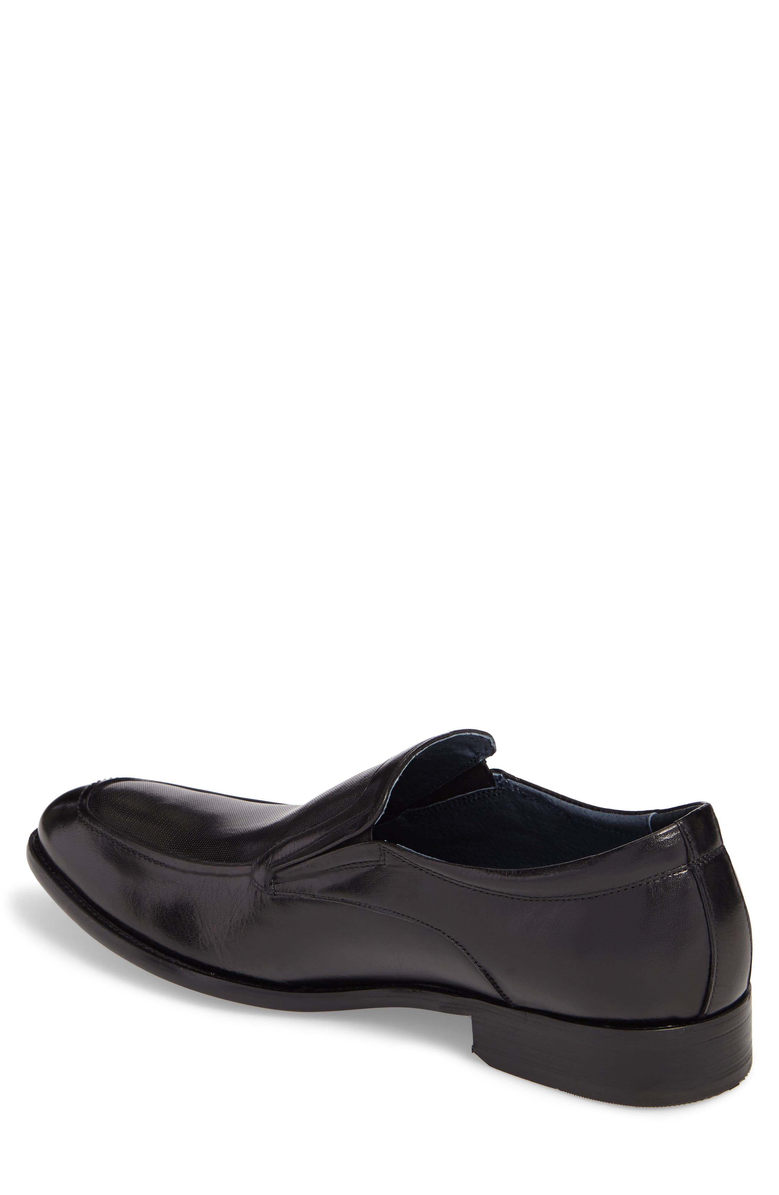 Alternate Image 2  - Stacy Adams Jace Embossed Apron Toe Loafer (Men)