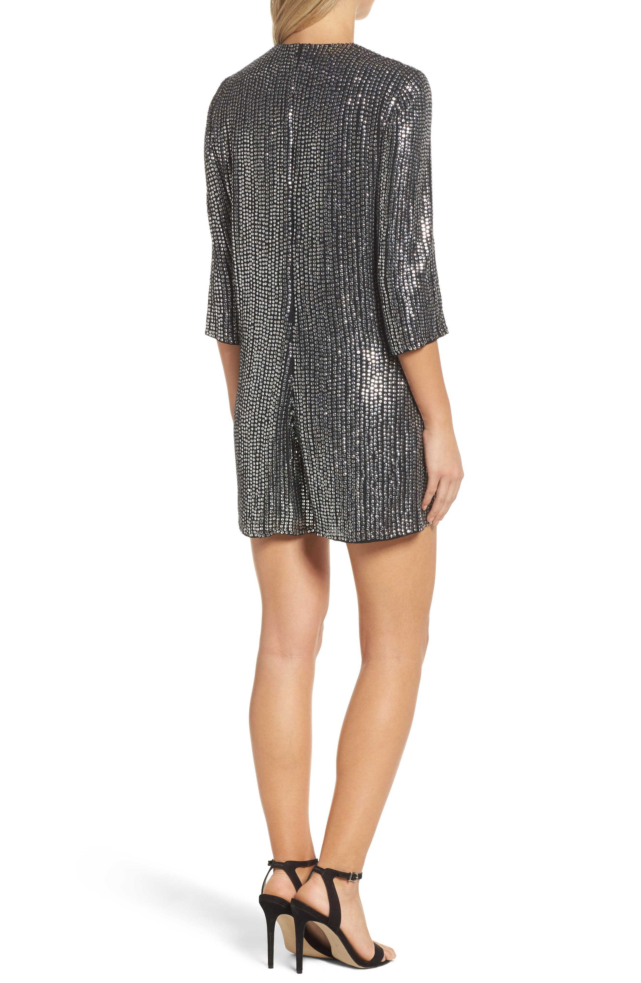Alternate Image 2  - French Connection Desiree Disco Romper