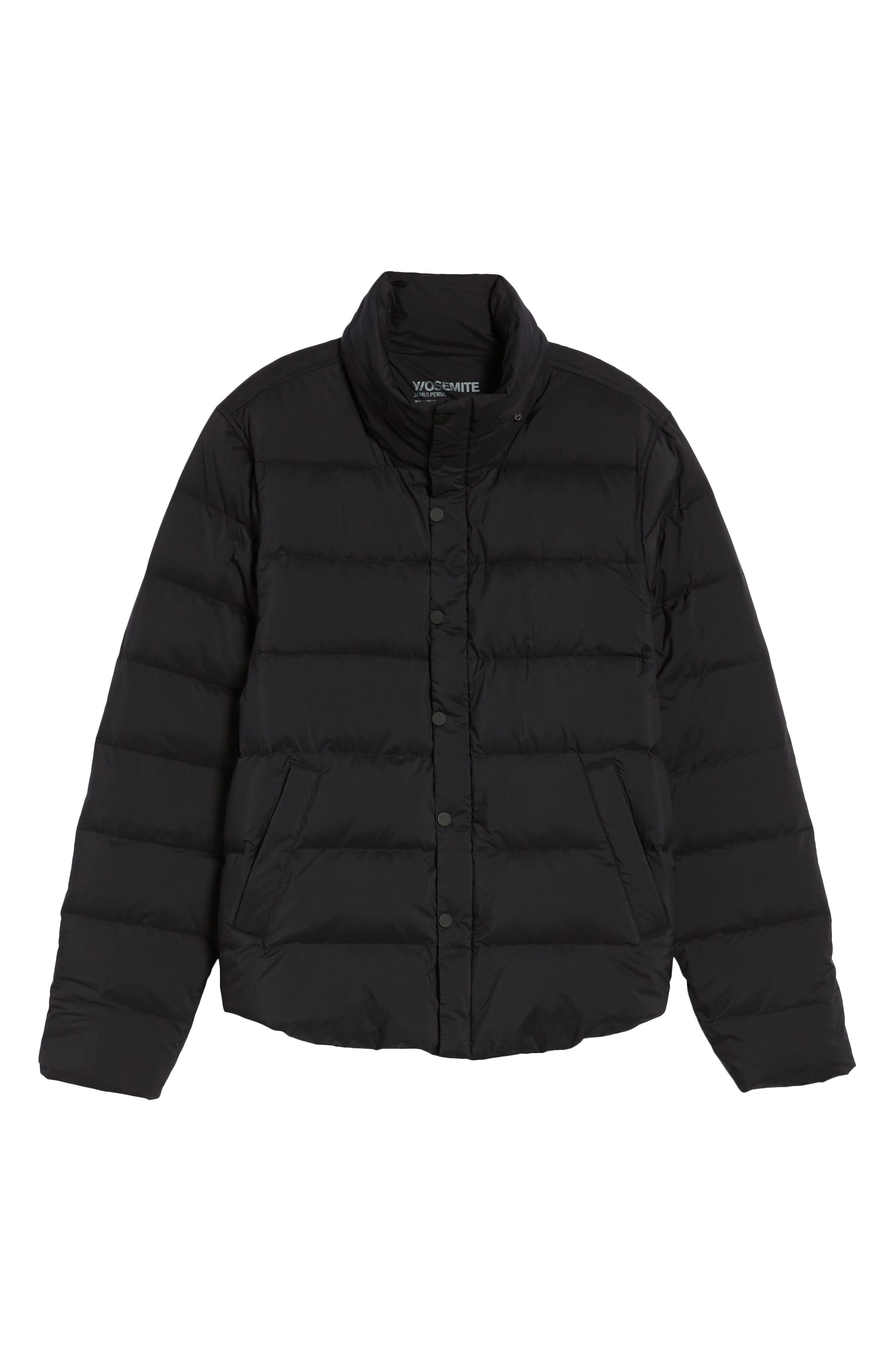 Alternate Image 6  - James Perse Quilted Down Jacket