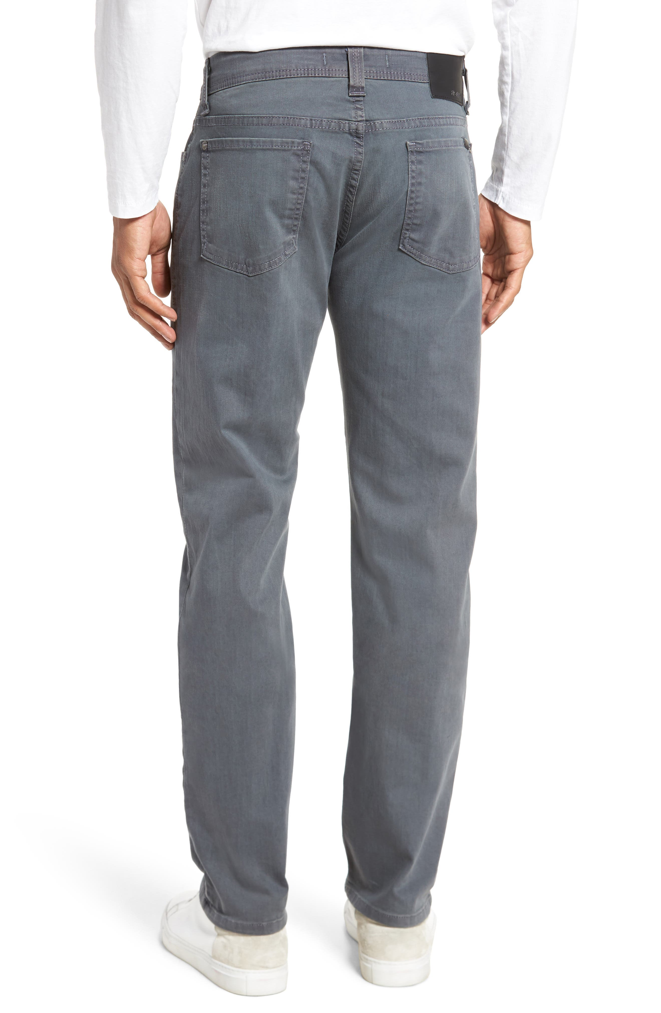 Jimmy Slim Straight Fit Jeans,                             Alternate thumbnail 2, color,                             Oyster