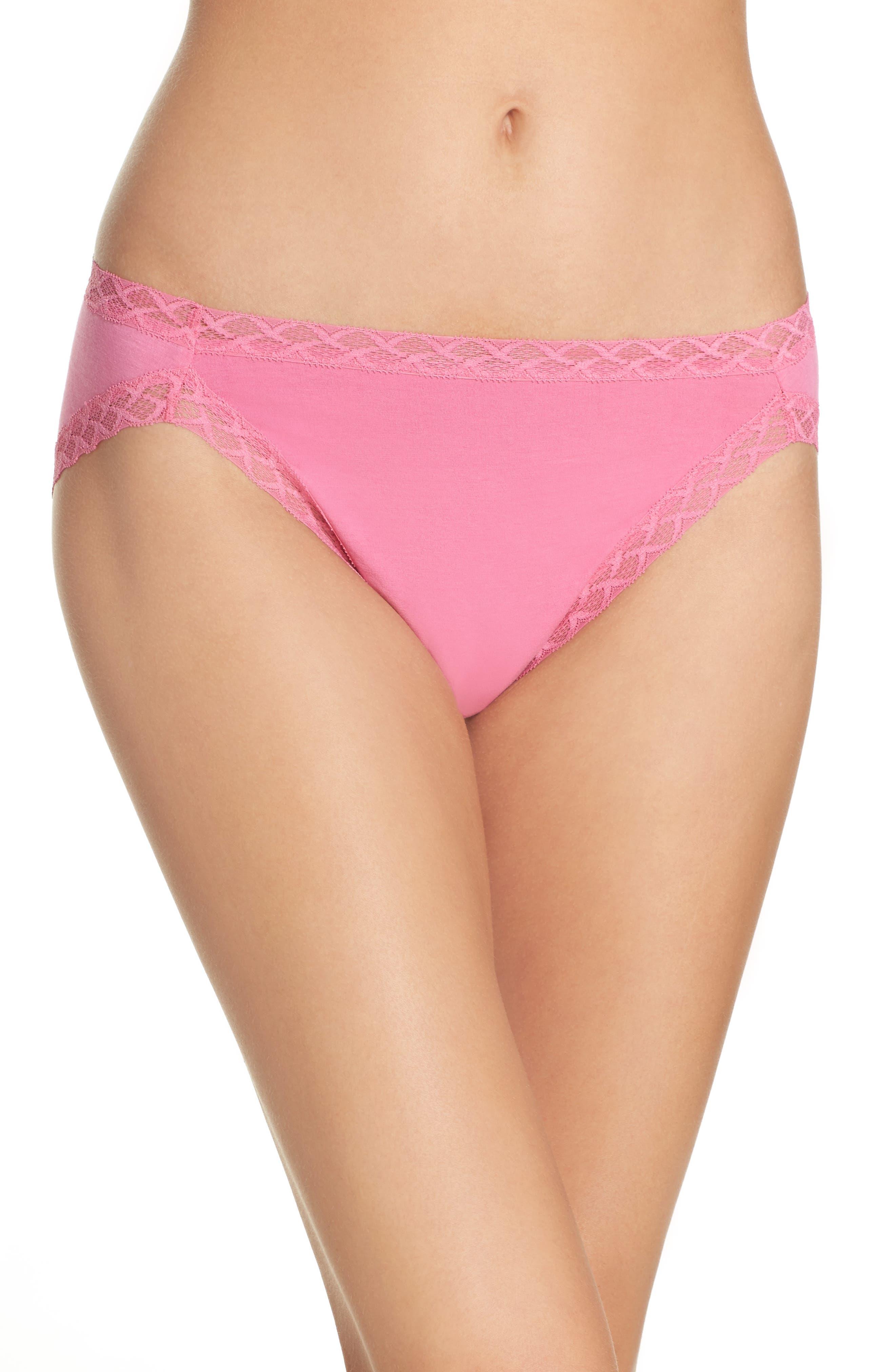 Main Image - Natori Bliss Cotton Girl Briefs (3 for $45)