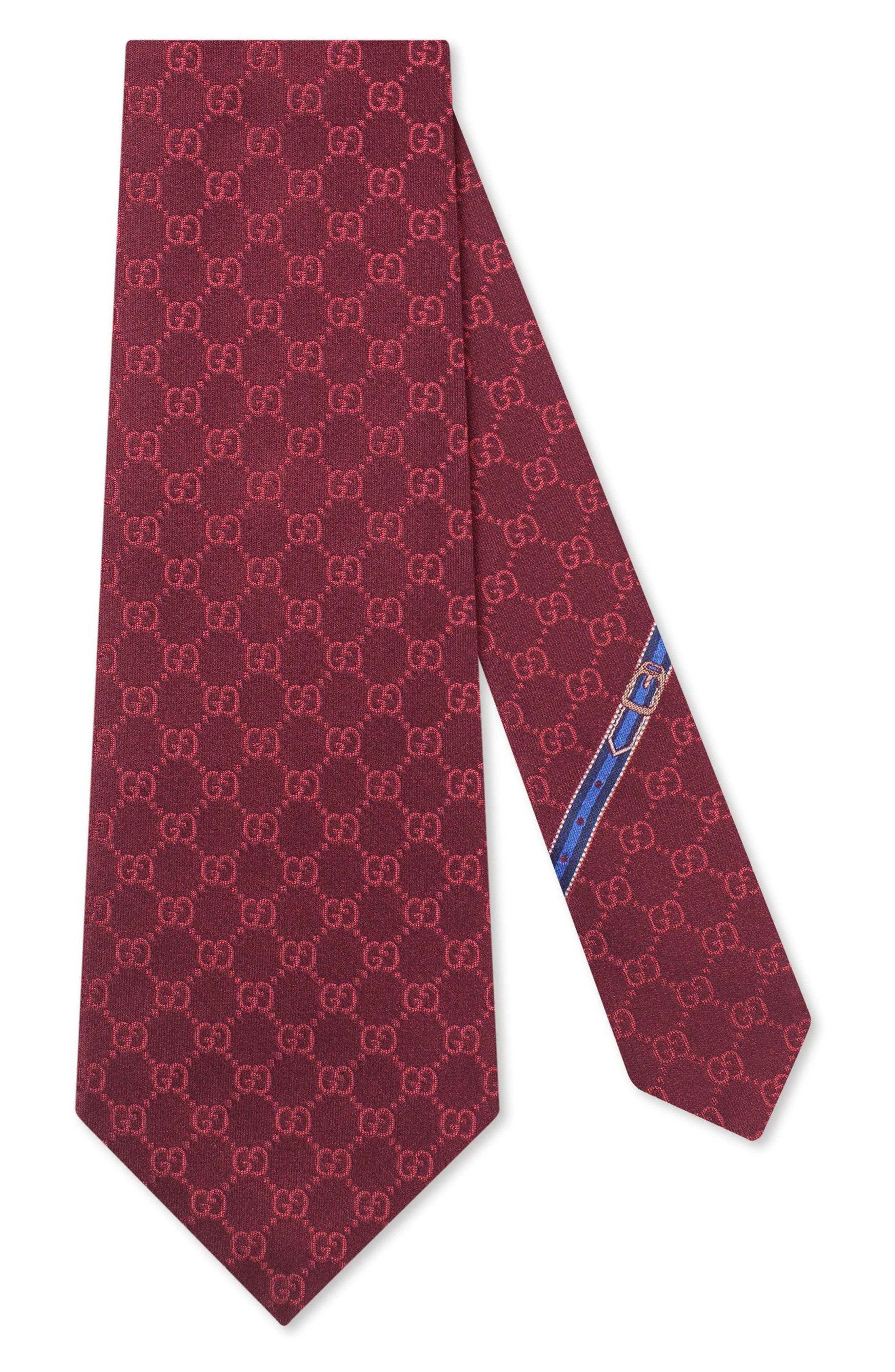 Alternate Image 1 Selected - Gucci Fedra Silk Jacquard Tie