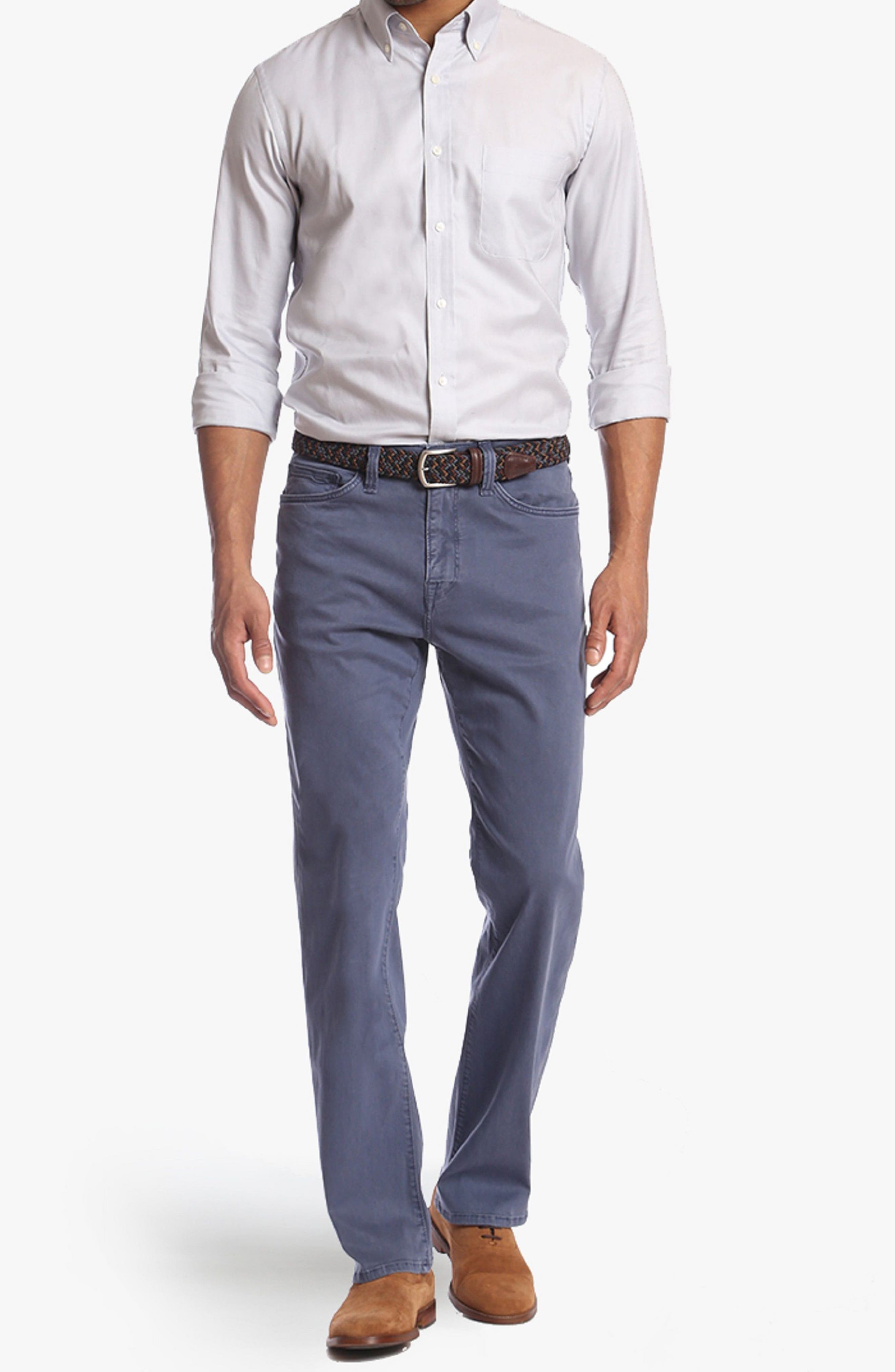 Charisma Relaxed Fit Jeans,                             Alternate thumbnail 4, color,                             Horizon Twill