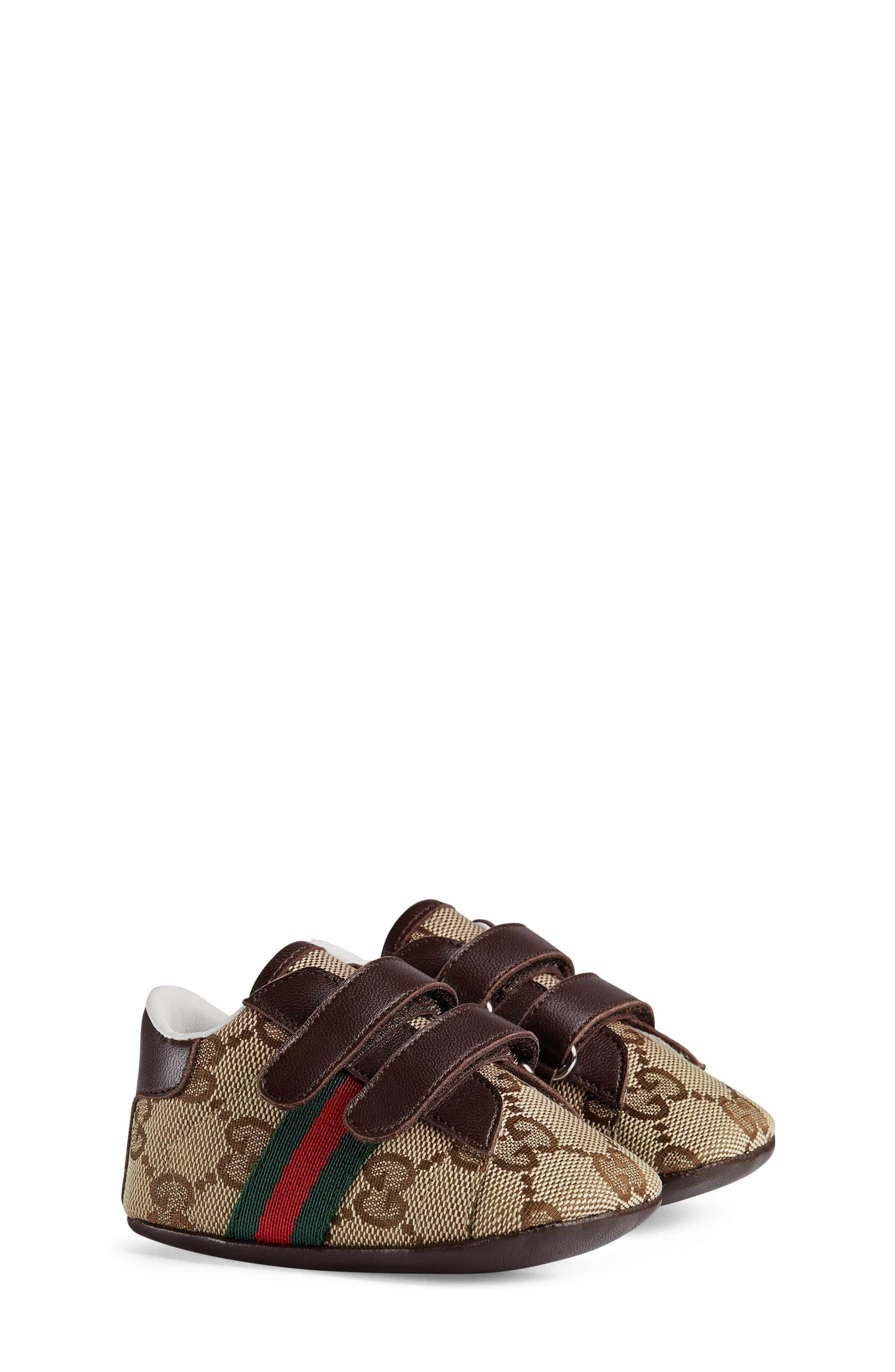 Gucci Ace Crib Shoe (Baby)