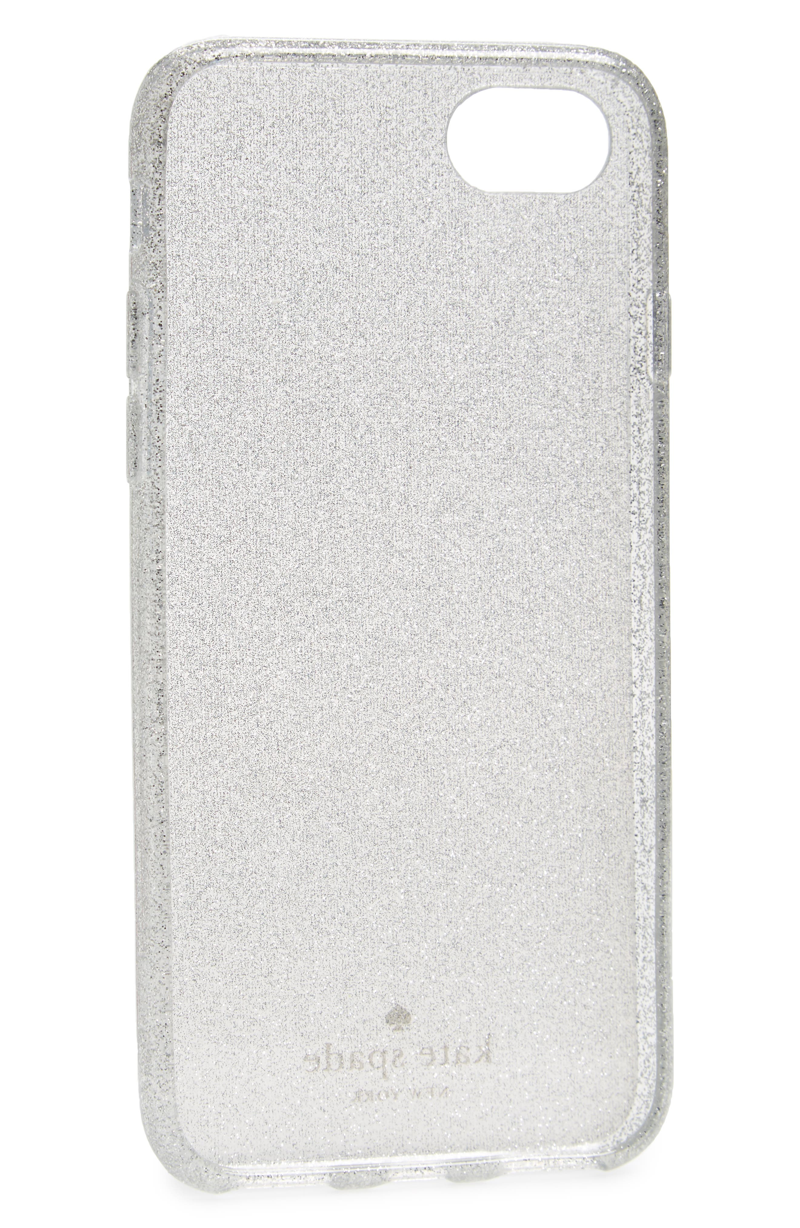 Alternate Image 2  - kate spade new york glitter ombré iPhone 7/8 & 7/8 Plus case