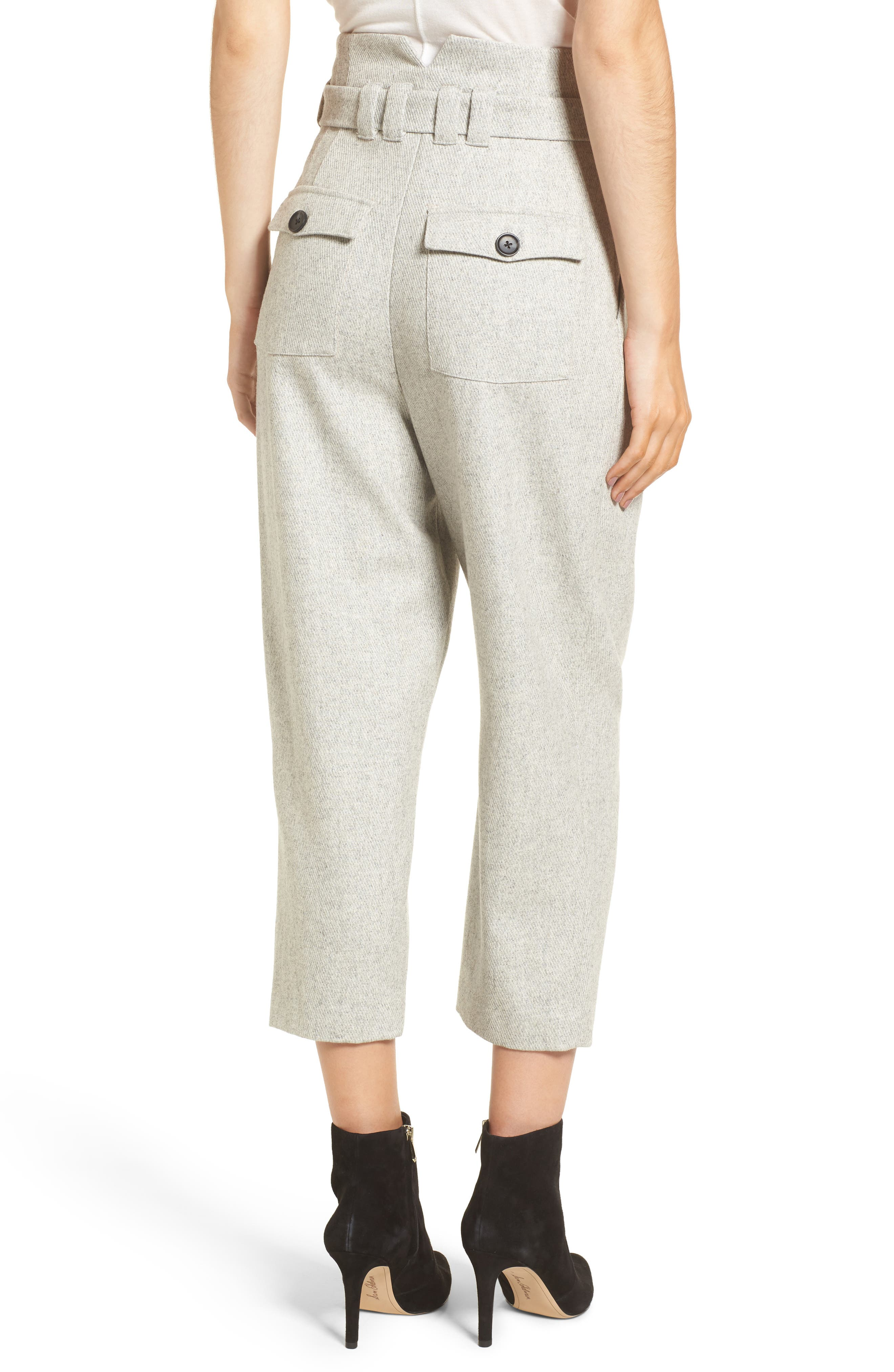 Alternate Image 3  - Line & Dot Bon Crop Pants