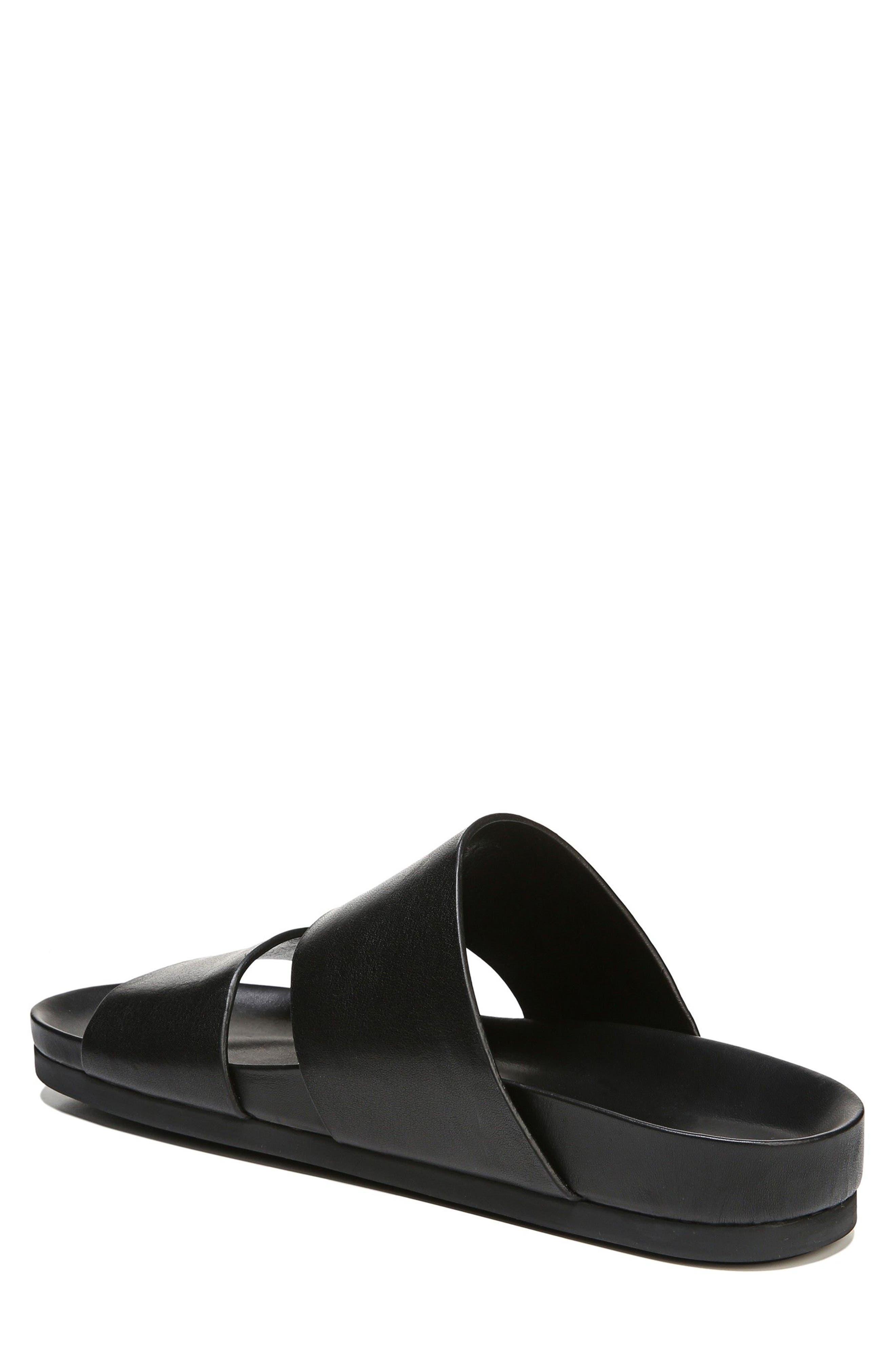 Malibu Slide Sandal,                             Alternate thumbnail 2, color,                             Black