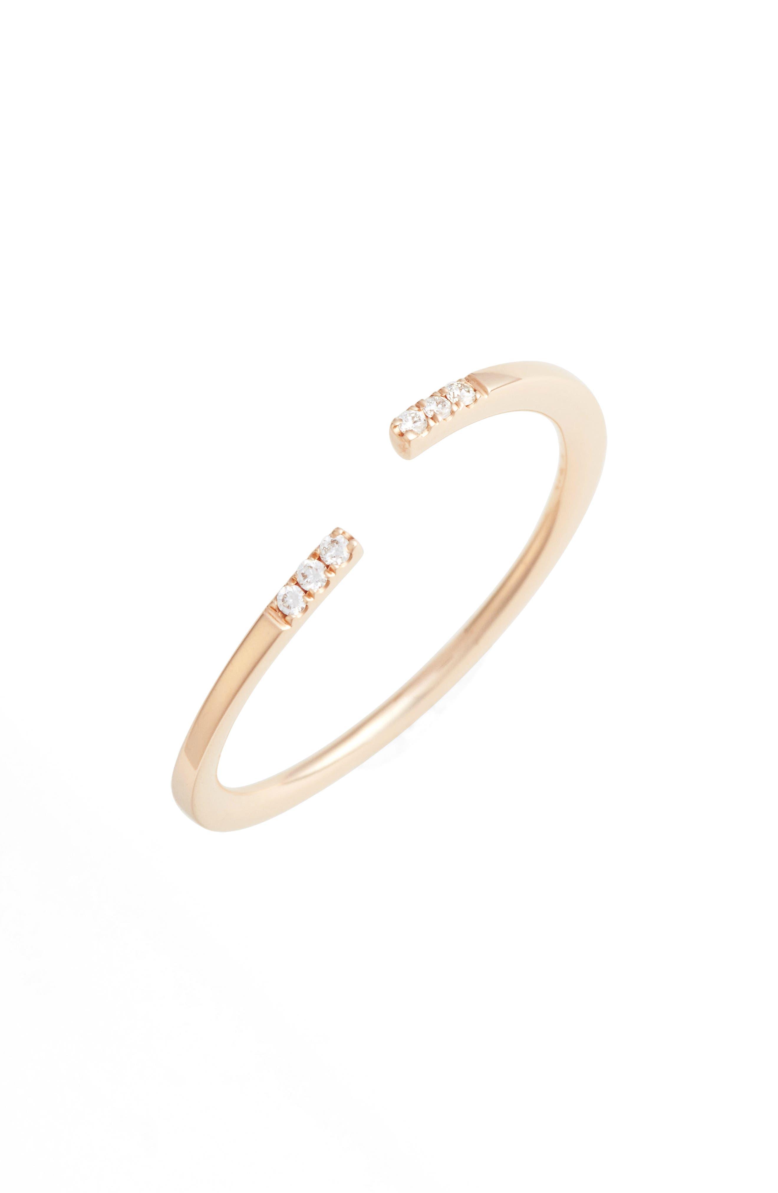 Bony Levy Open Diamond Ring (Nordstrom Exclusive)