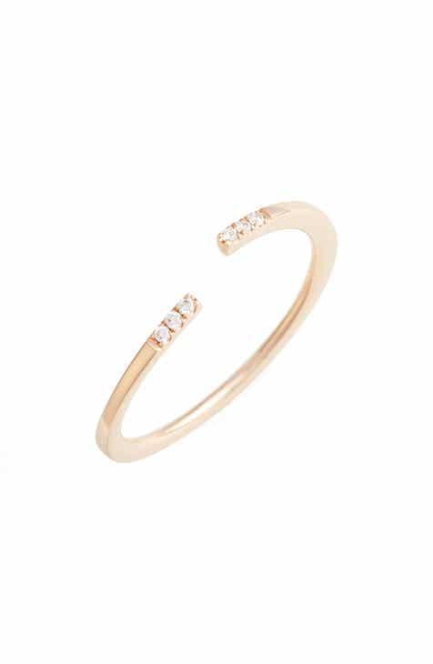 fe036c1388f2 Bony Levy Open Diamond Ring (Nordstrom Exclusive)