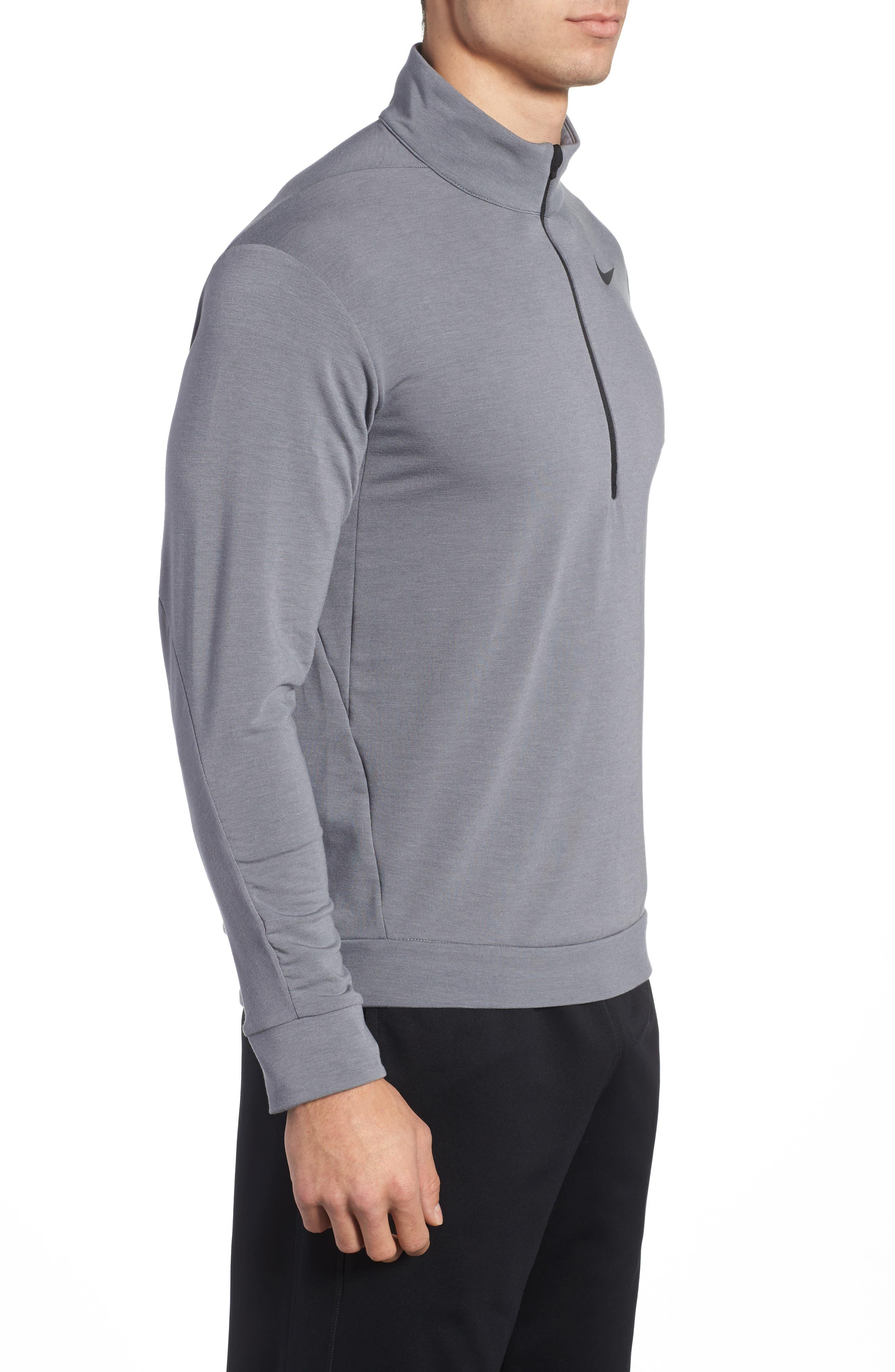 Alternate Image 3  - Nike Dry Training Quarter Zip Pullover