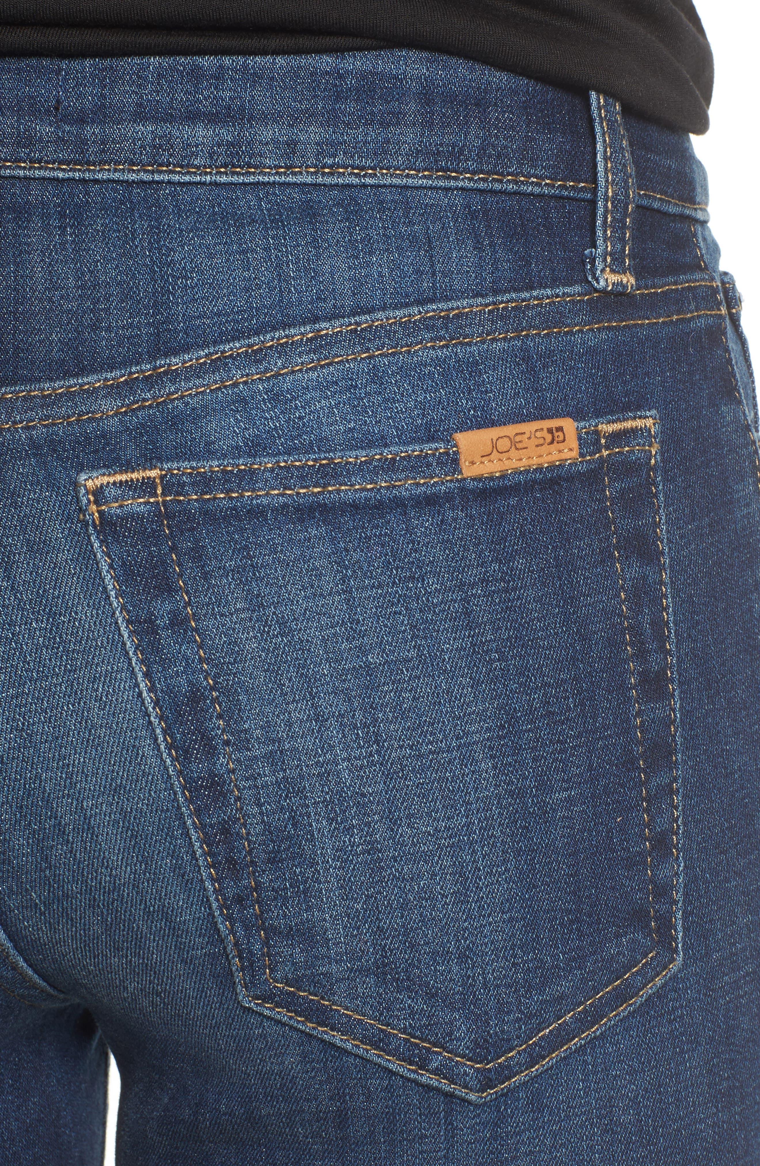 Alternate Image 4  - Joe's Flawless - Icon Skinny Ankle Jeans (Fernanda)