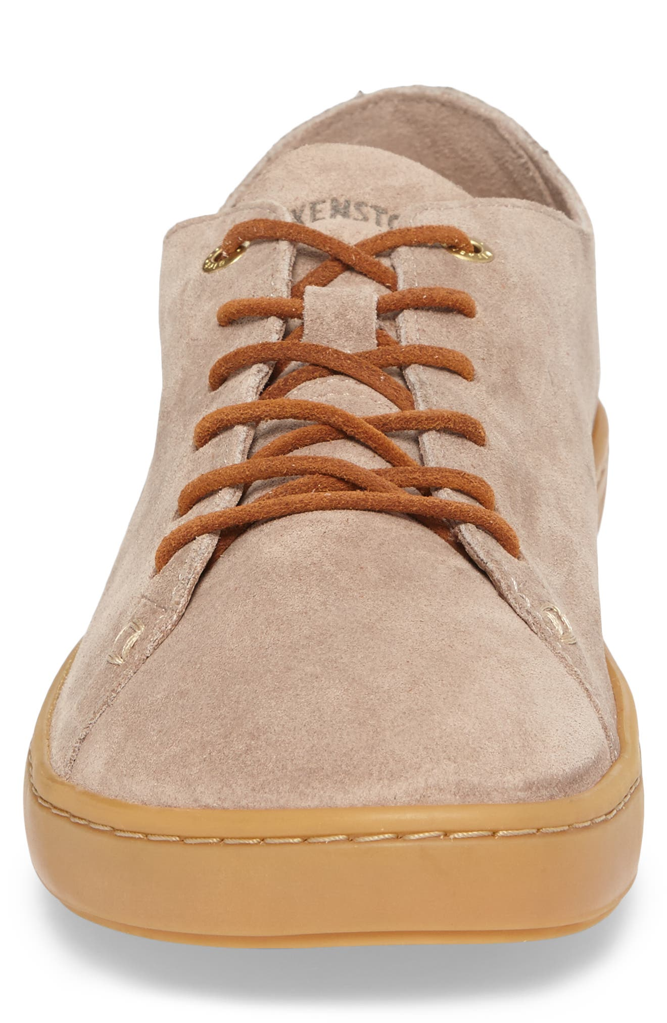 Arran Sneaker,                             Alternate thumbnail 4, color,                             Taupe Suede
