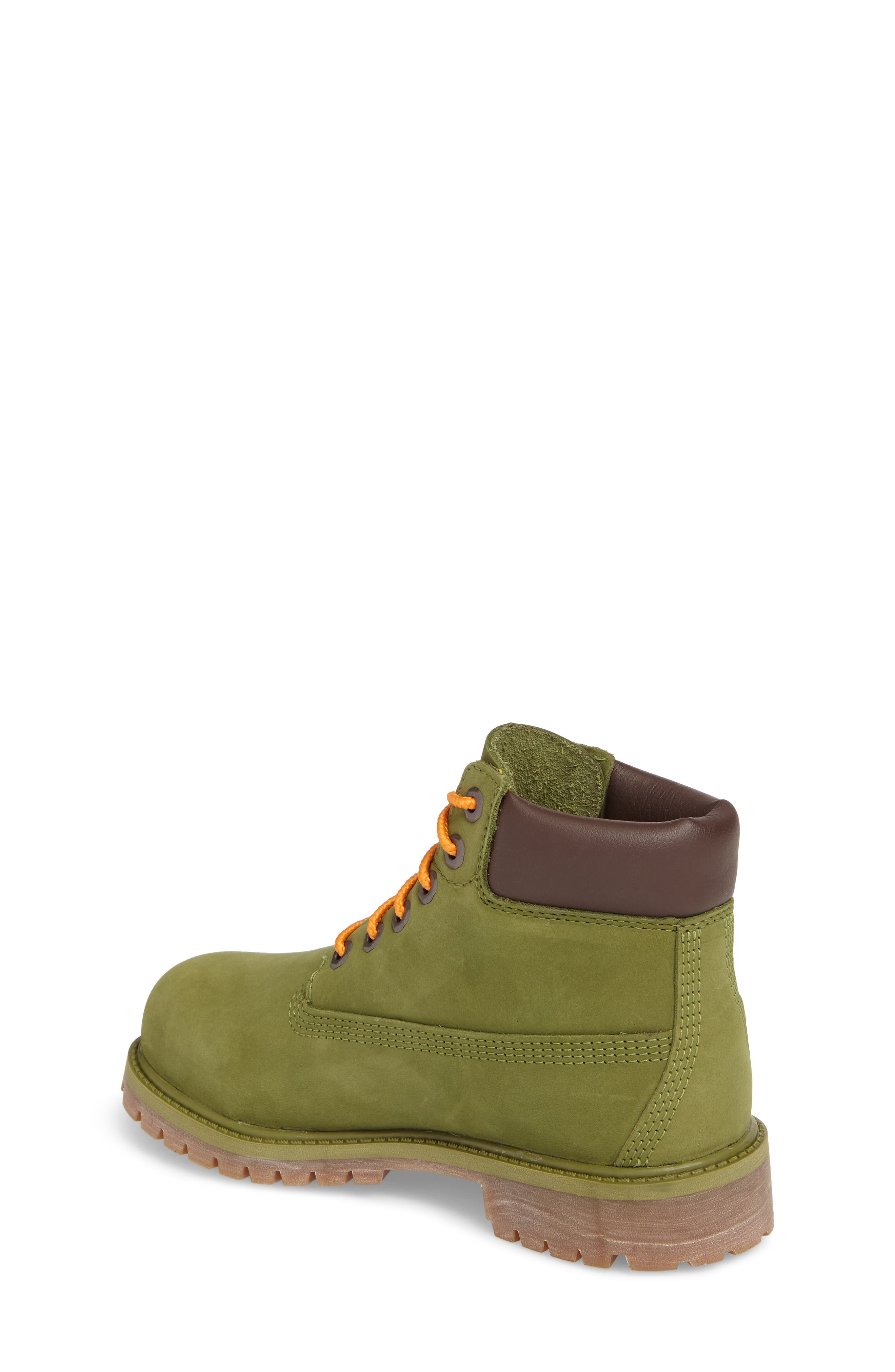 Alternate Image 2  - Timberland 6-Inch Premium Waterproof Boot (Walker, Toddler, Little Kid & Big Kid)