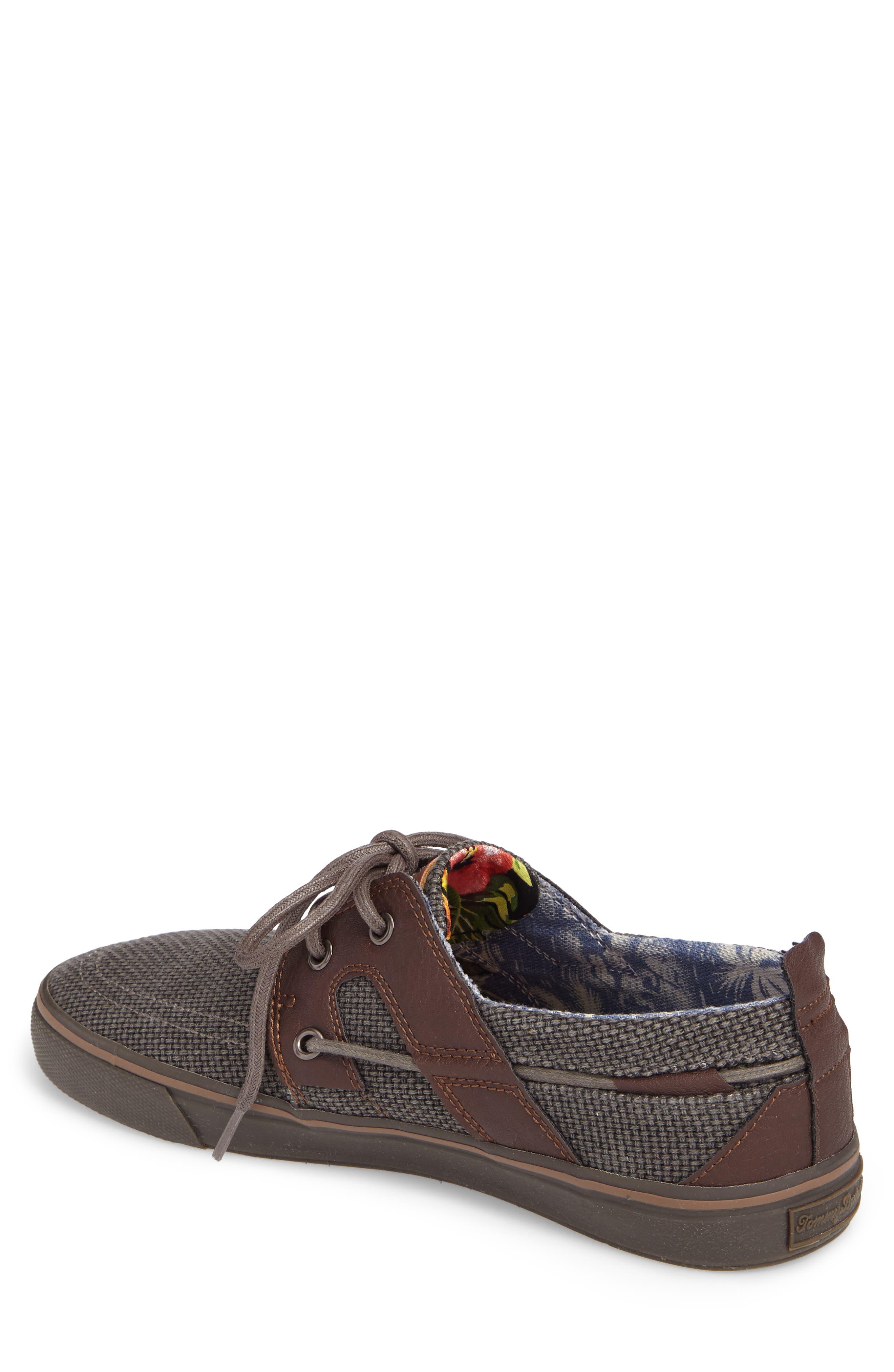 Stripe Breaker Sneaker,                             Alternate thumbnail 2, color,                             Dark Grey/ Dark Brown