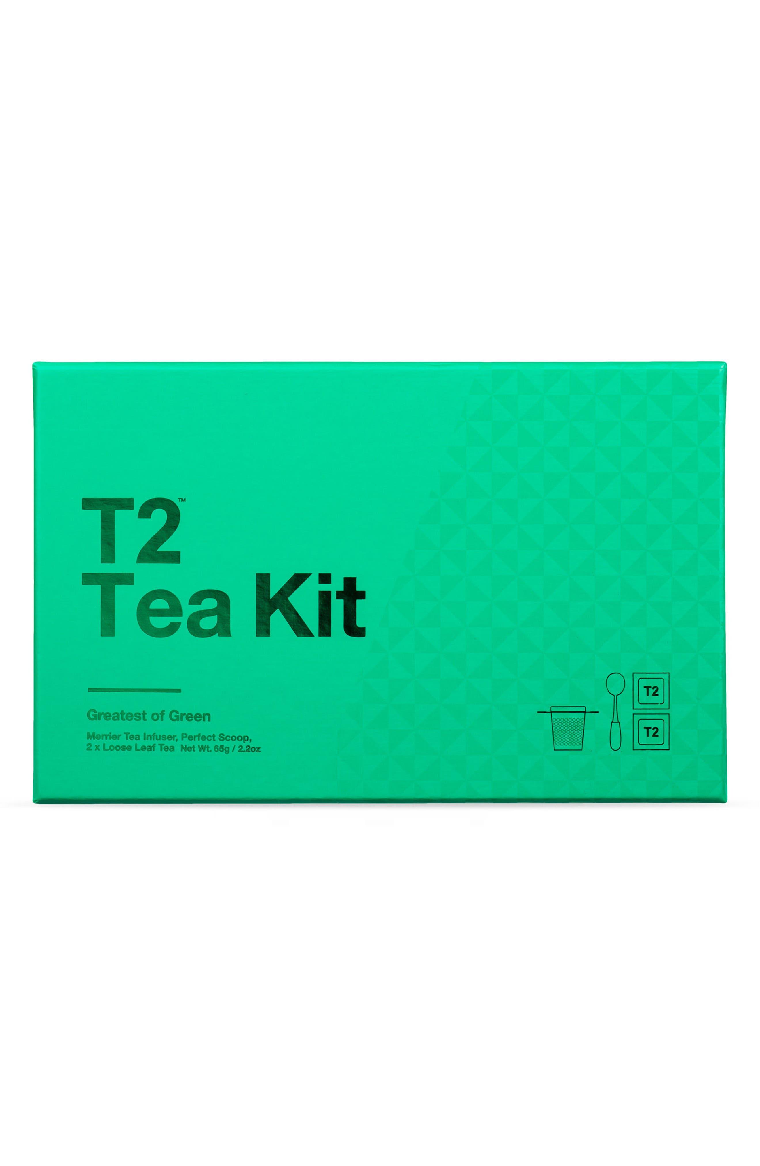 Main Image - T2 Tea Greatest of Green Loose Leaf Tea Box Set