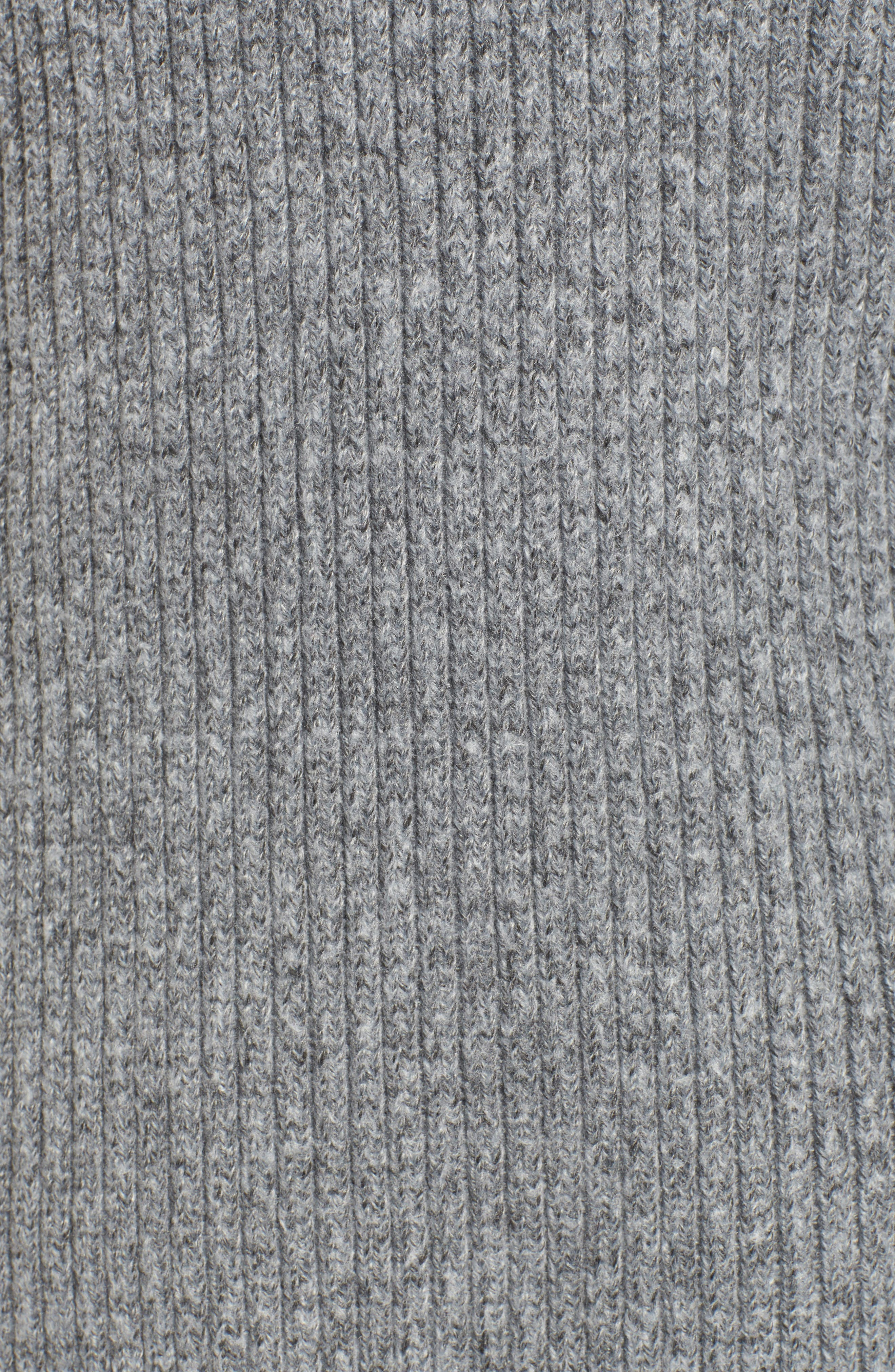 Rodell Cold Shoulder Sweater,                             Alternate thumbnail 5, color,                             Medium Heather Grey