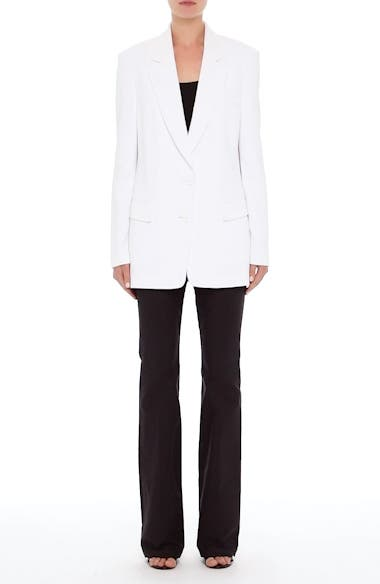 Alternate Image 8  - Michael Kors Double Crepe Sable Jacket