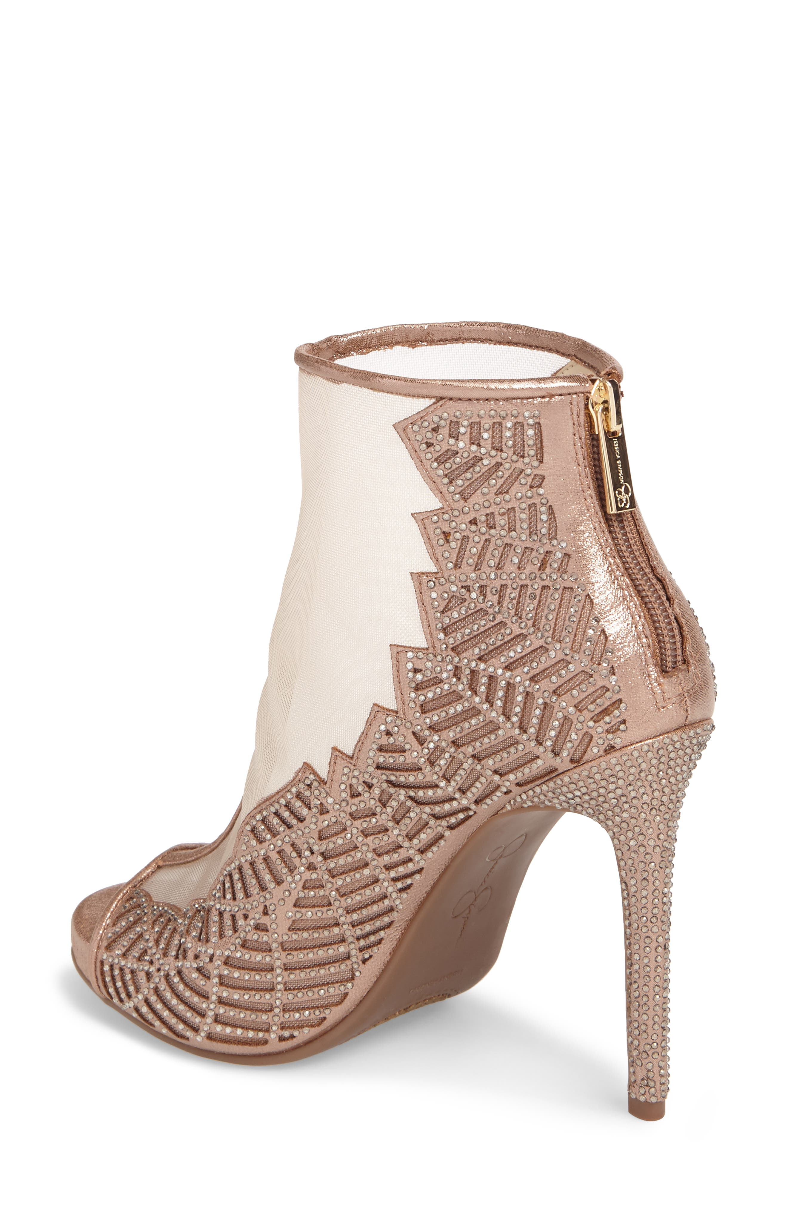 Radko Embellished Sandal,                             Alternate thumbnail 2, color,                             Light Sheer Mesh