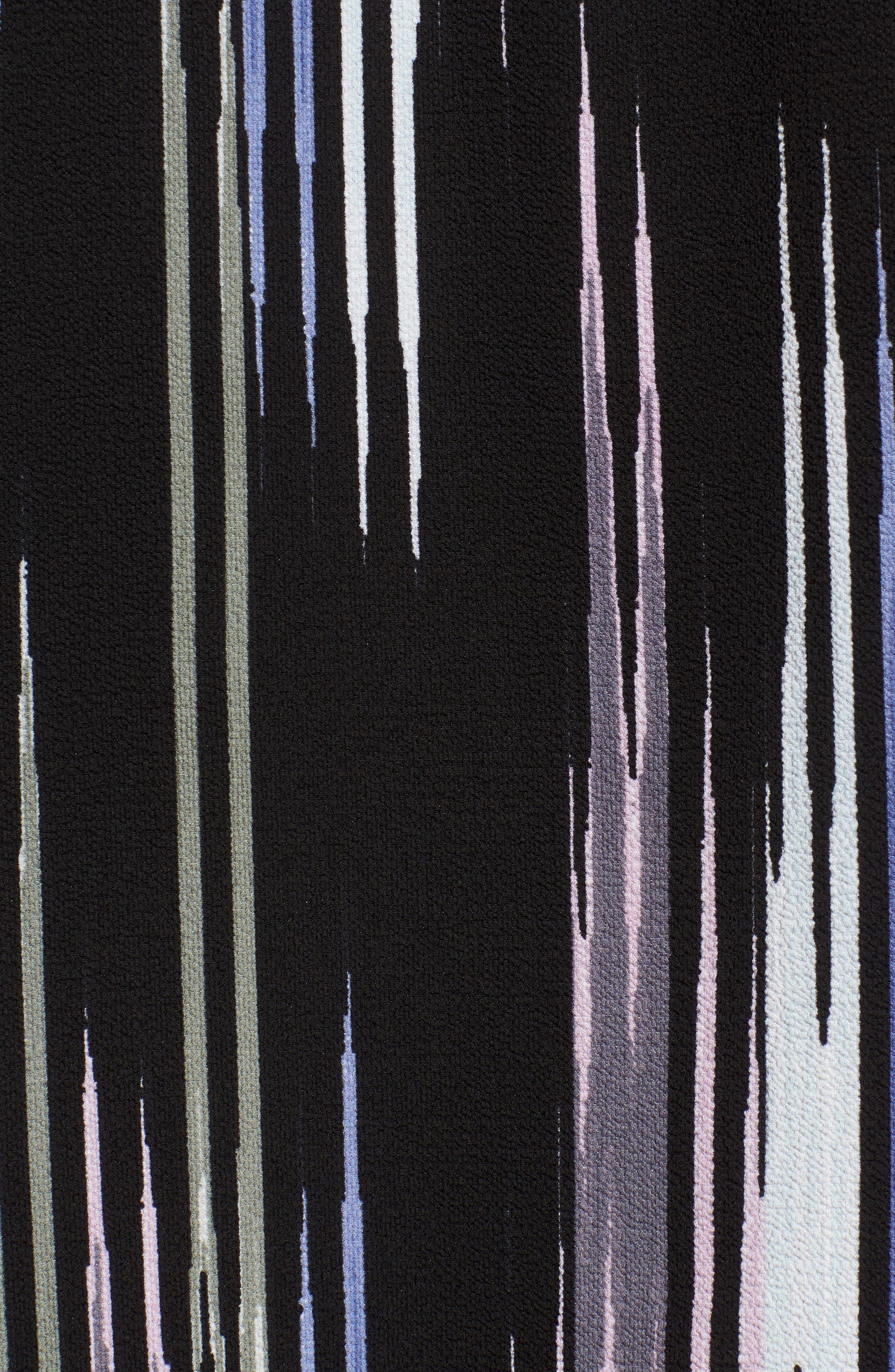 Alternate Image 5  - Vince Camuto Colorful Peaks Handkerchief Sleeve Top
