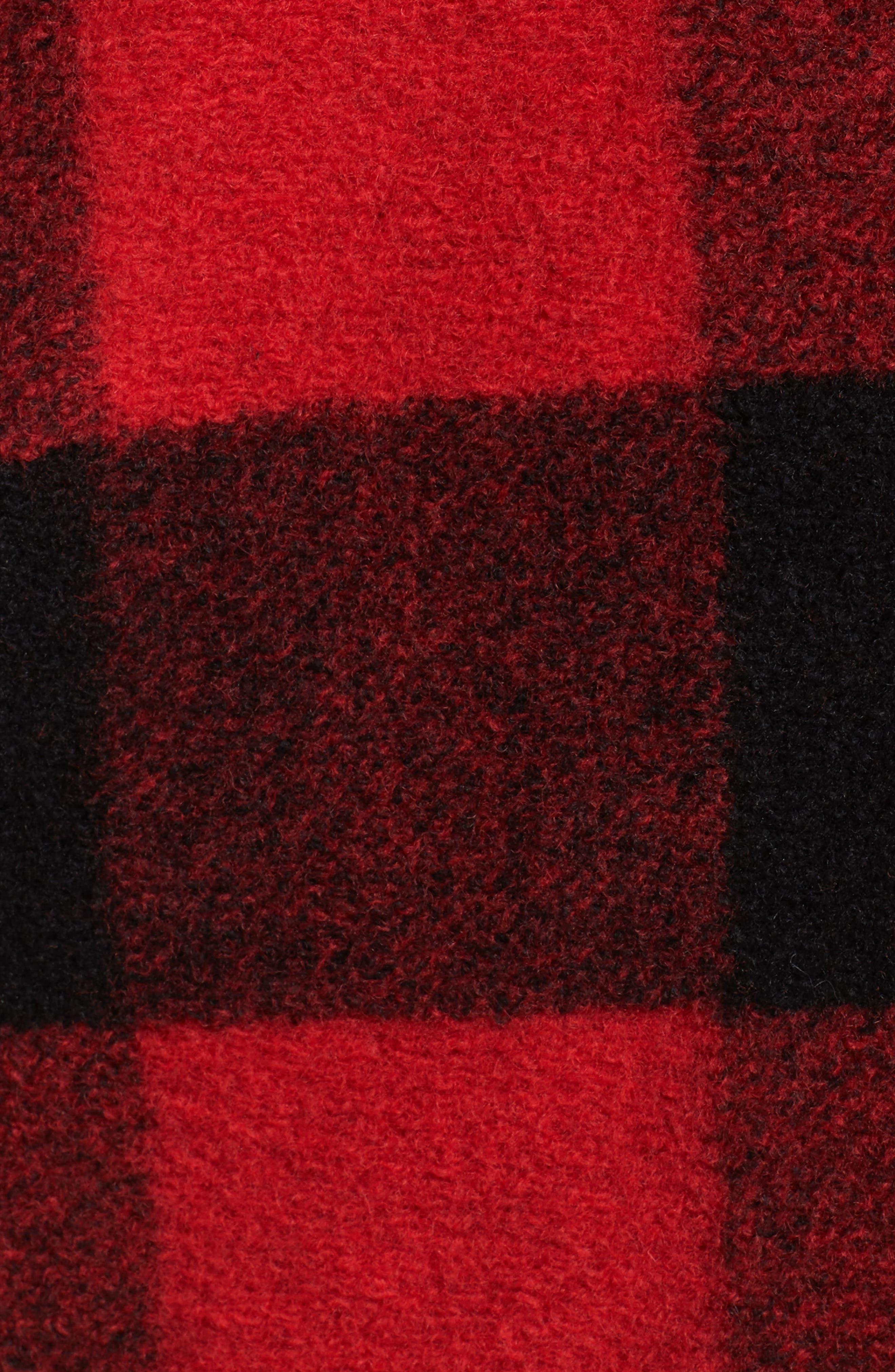 Alternate Image 5  - Pendleton Paul Bunyan Plaid Wool Blend Barn Coat (Plus Size)