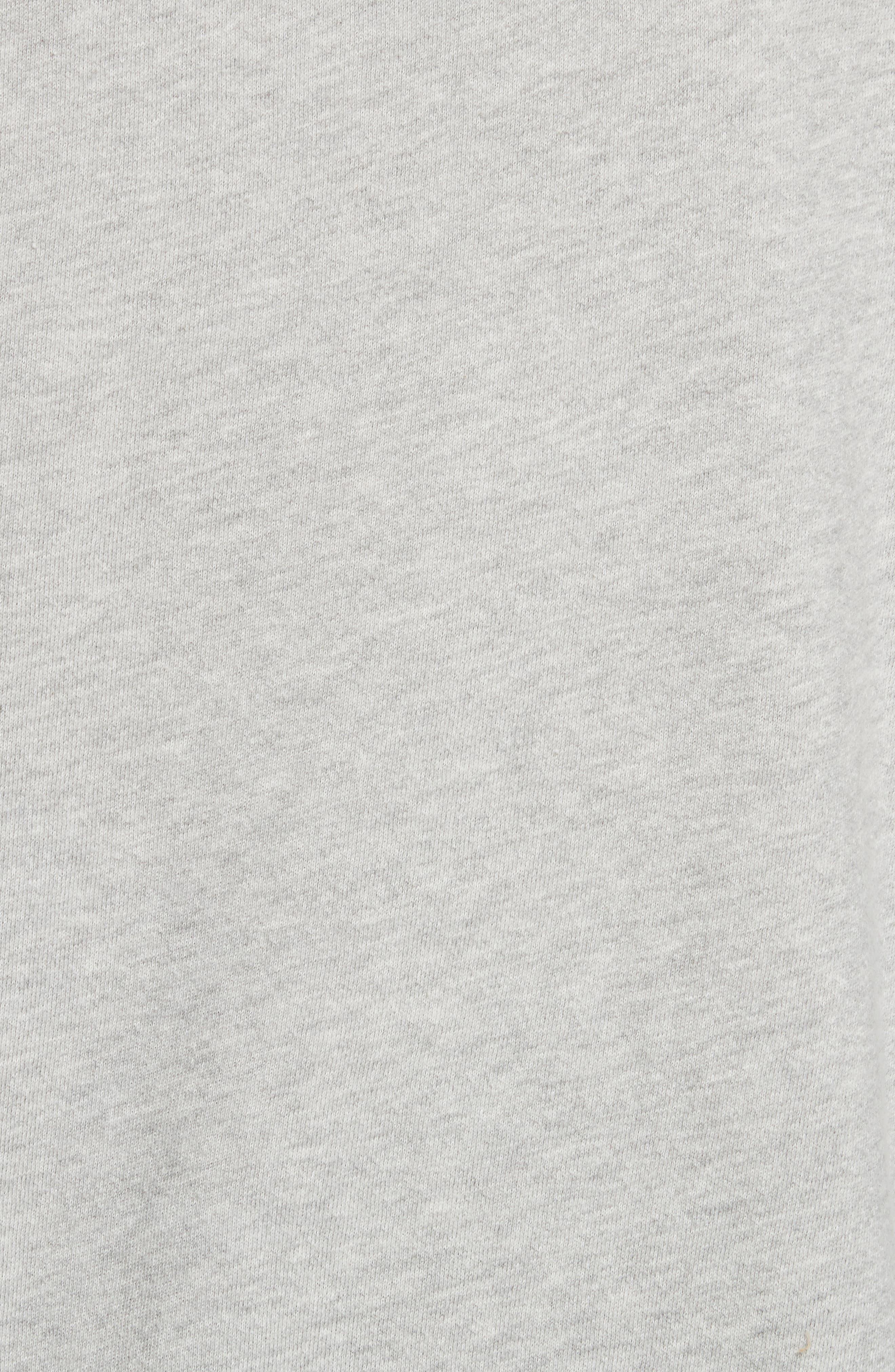 Isae Bishop Sleeve Sweatshirt,                             Alternate thumbnail 5, color,                             Heather Grey