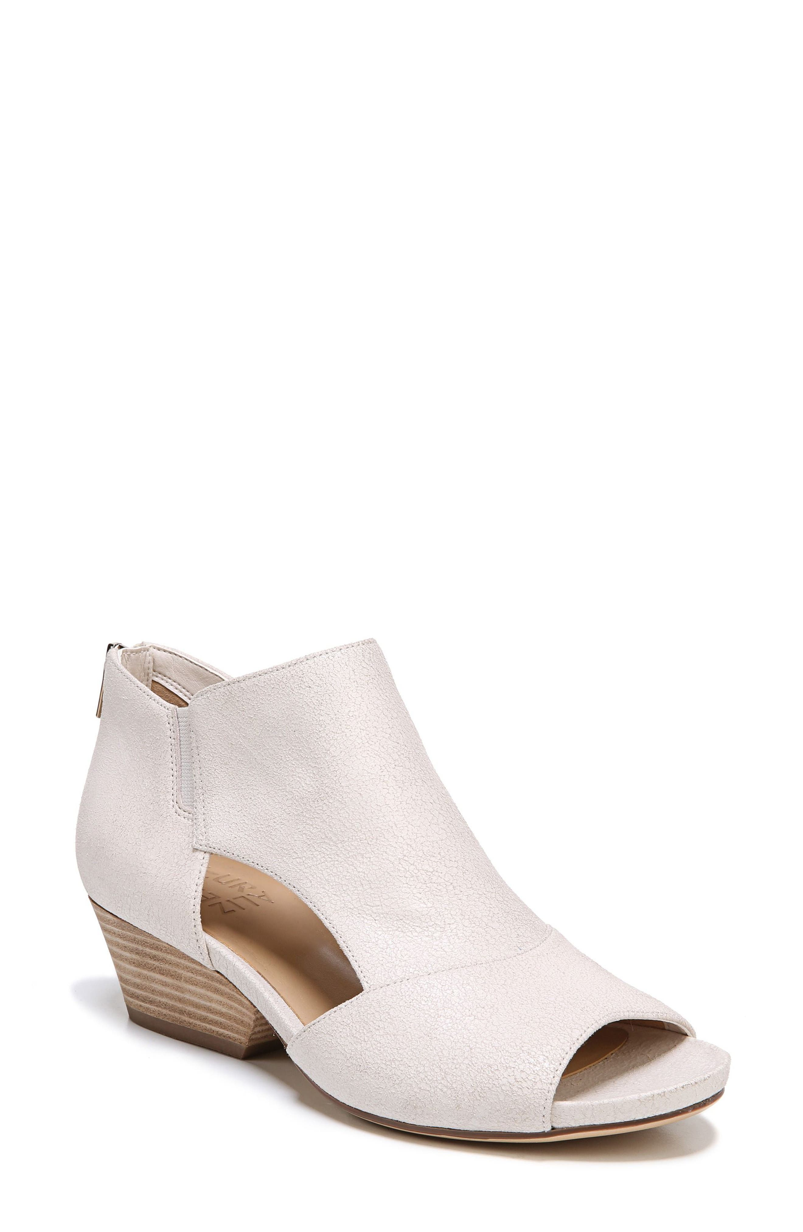 Alternate Image 1 Selected - Naturalizer Greyson Open Toe Bootie (Women)