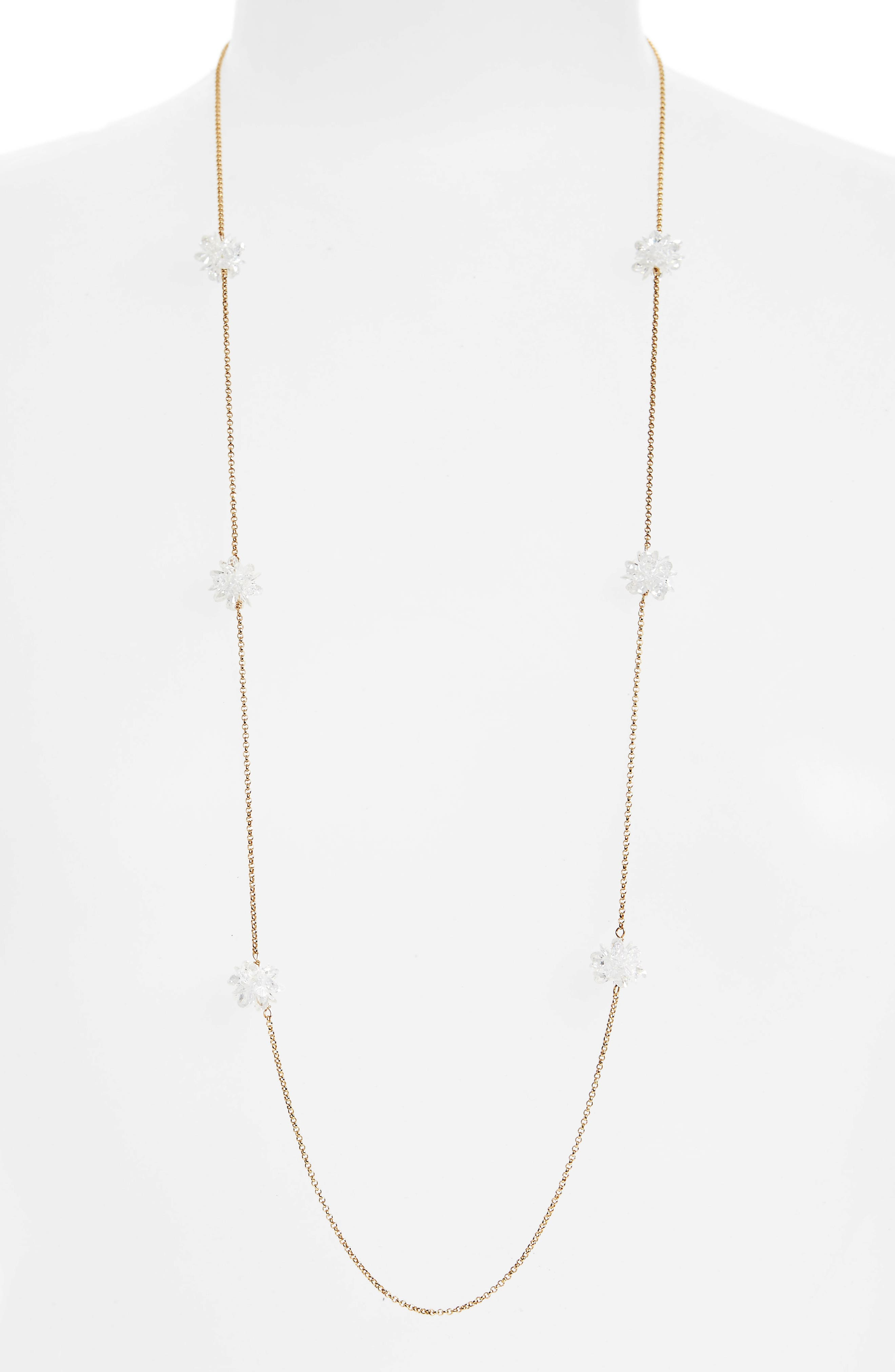 Alternate Image 1 Selected - kate spade new york flying colors rock candy long station necklace