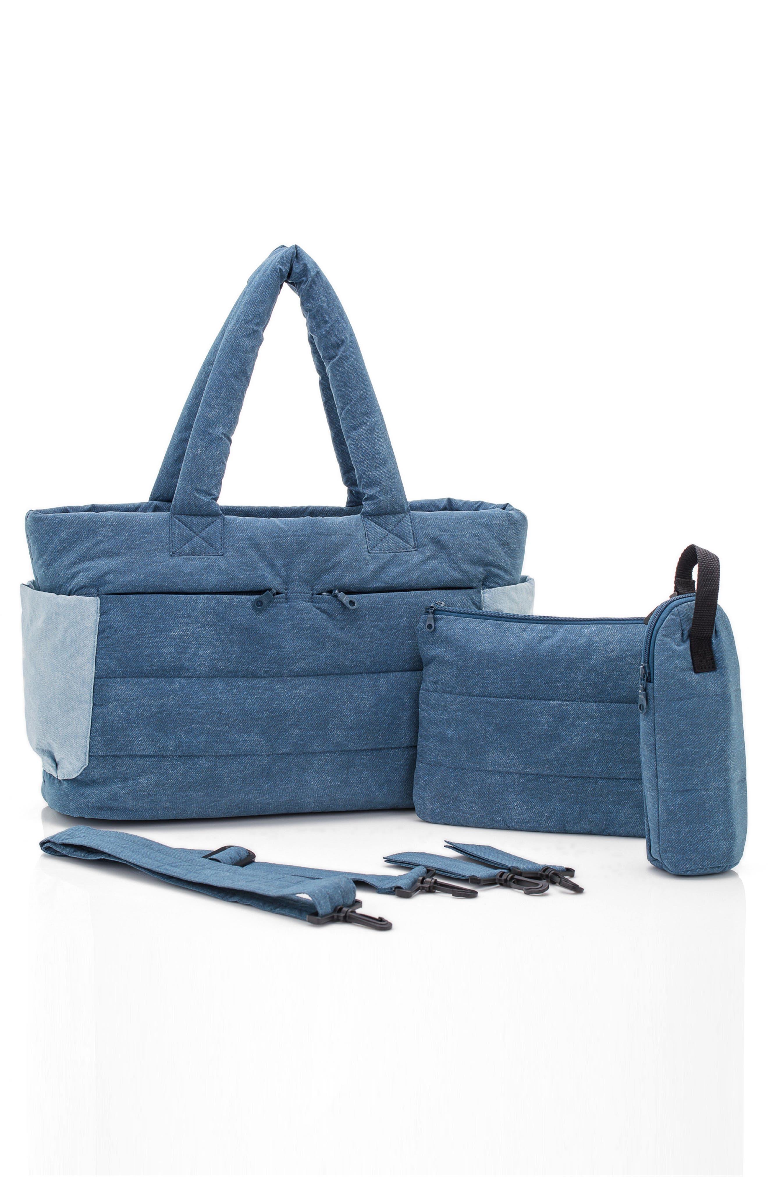 Alternate Image 3  - HARU Print Classic Water Repellent Diaper Bag