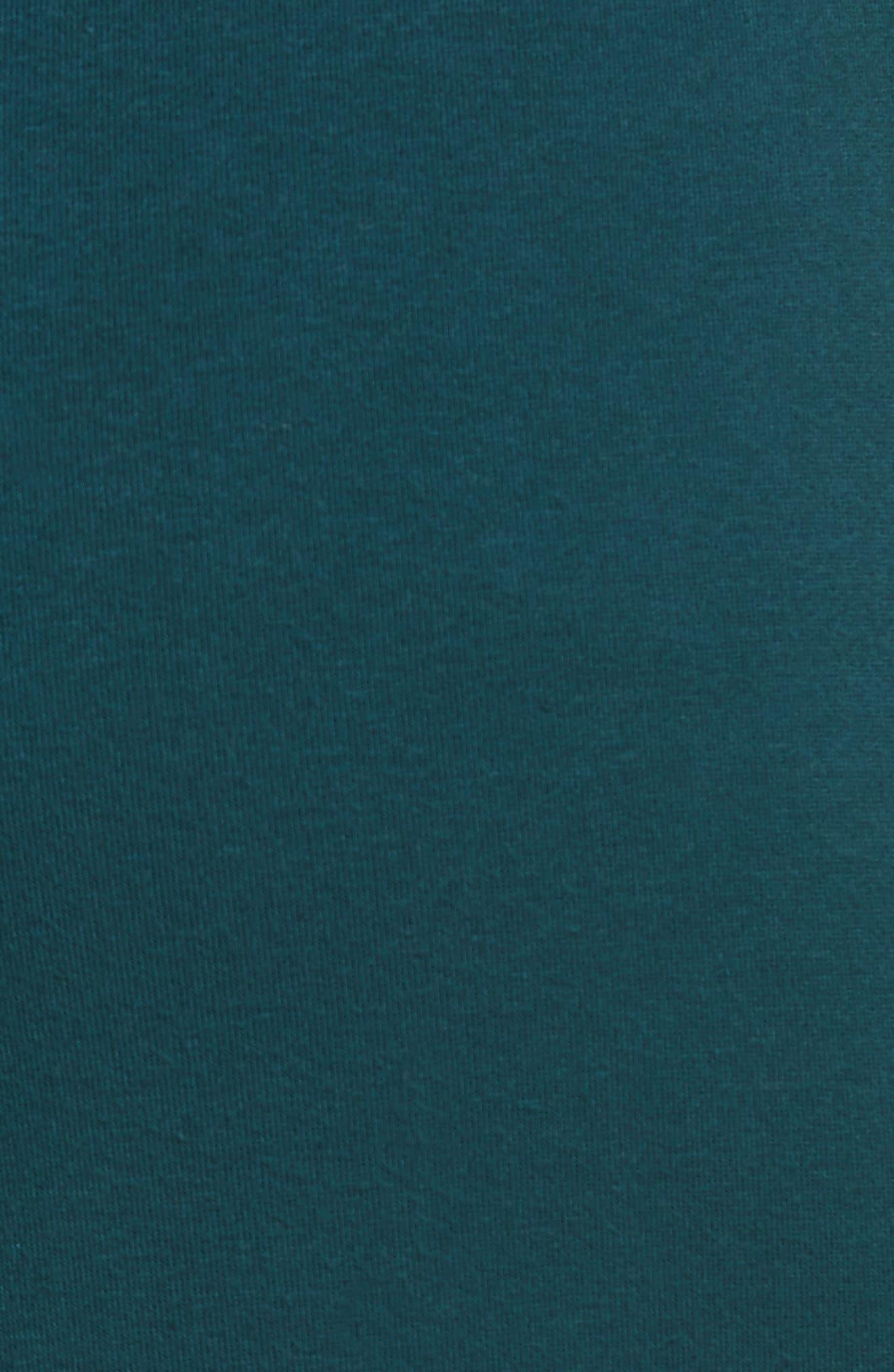 Double Axel Jogger Pants,                             Alternate thumbnail 5, color,                             Turquoise