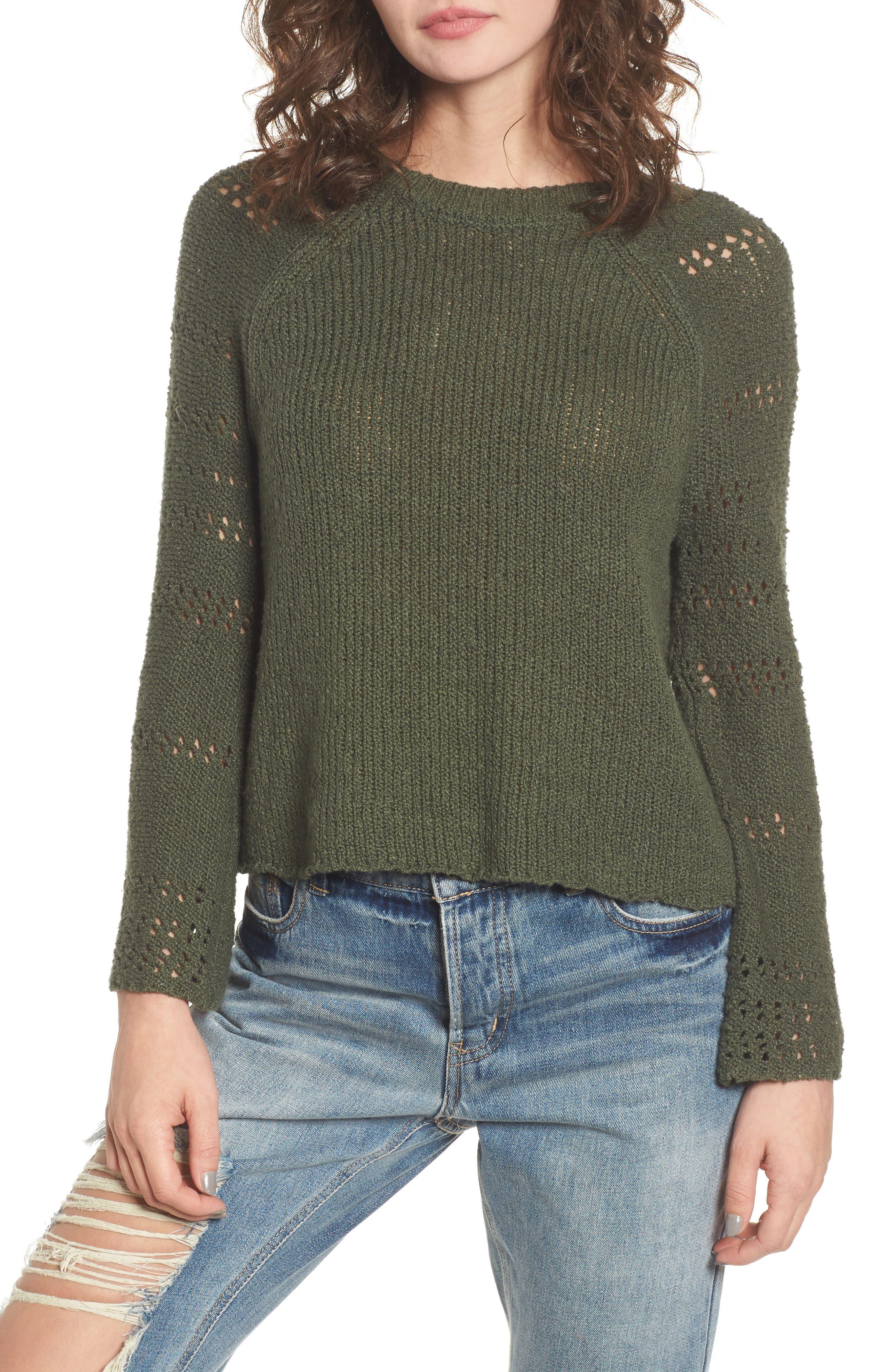Billabong Cozy Love Bell Sleeve Sweater
